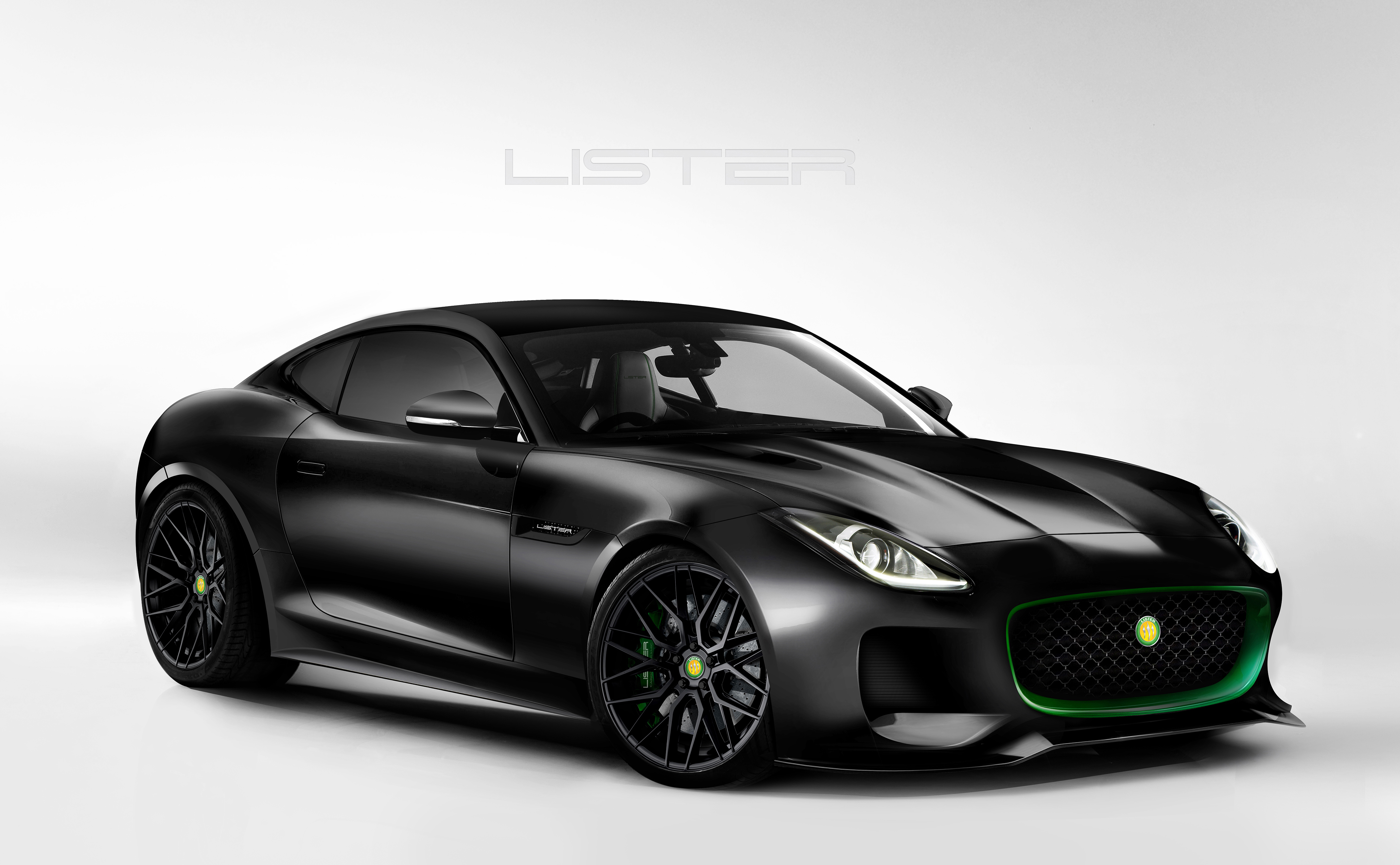 The LFT 666 is a Jaguar F-Type with added evil