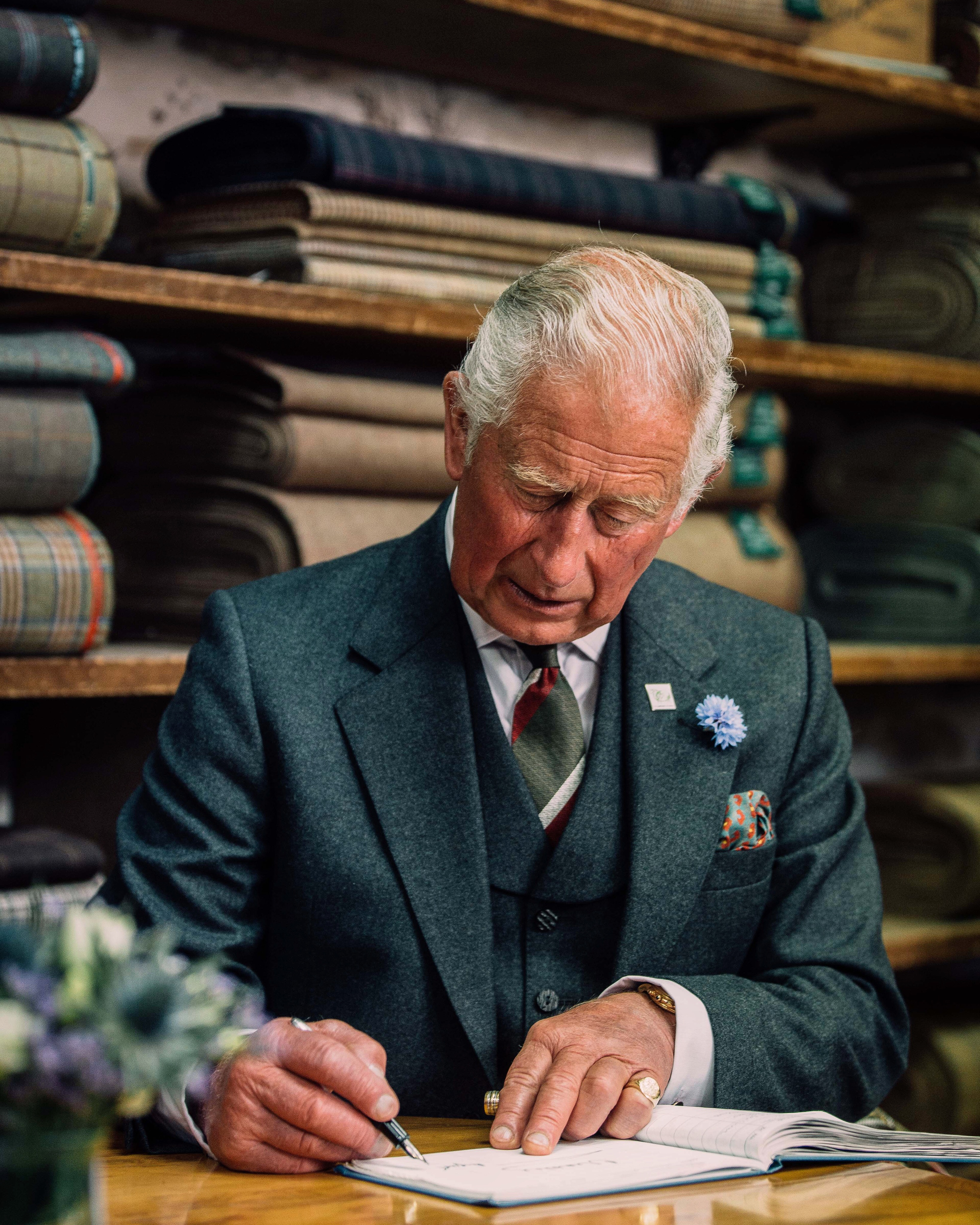 Prince Charles at Campbell's of Beauly