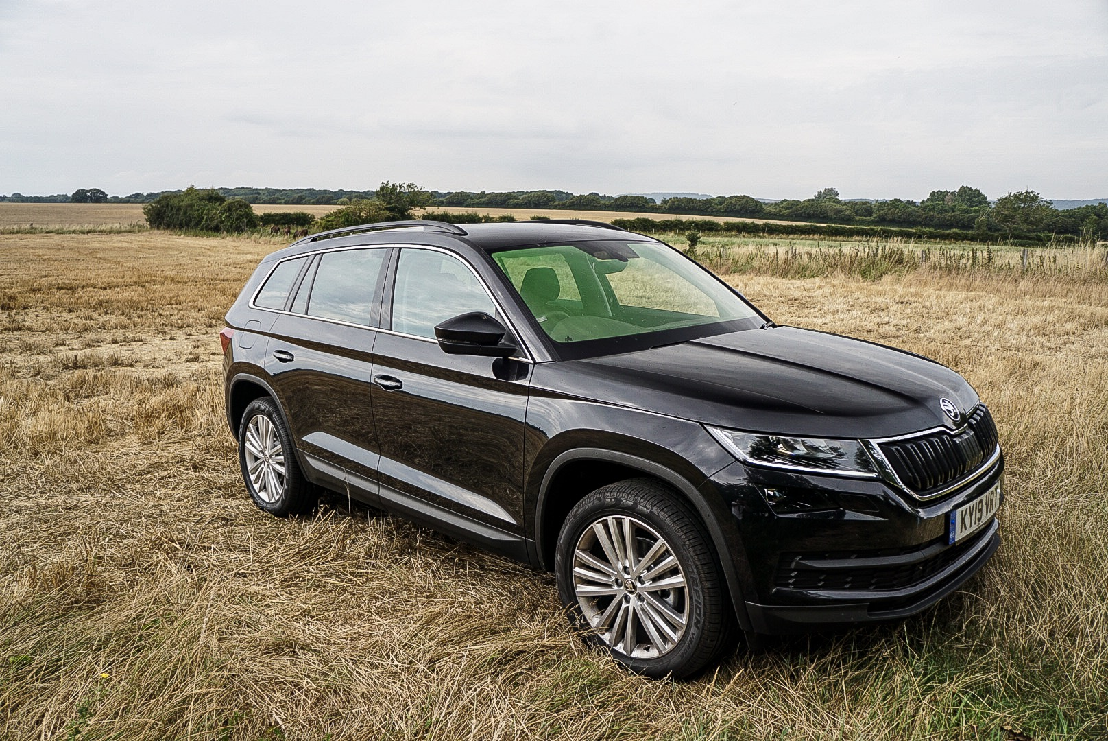 The Kodiaq is brimmed with standard equipment