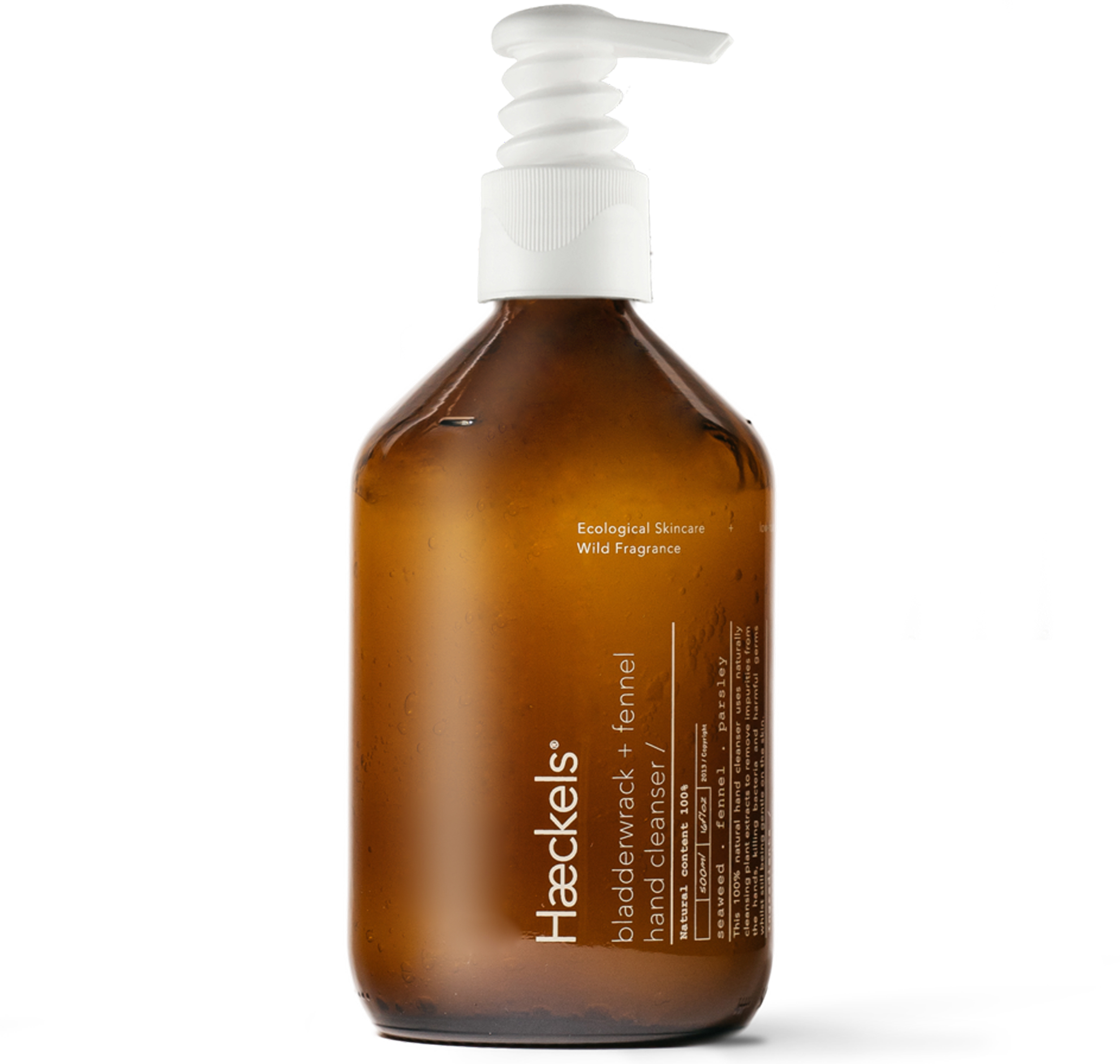 Haeckels Bladderwrack + Fennel Hand Cleanser With Pump