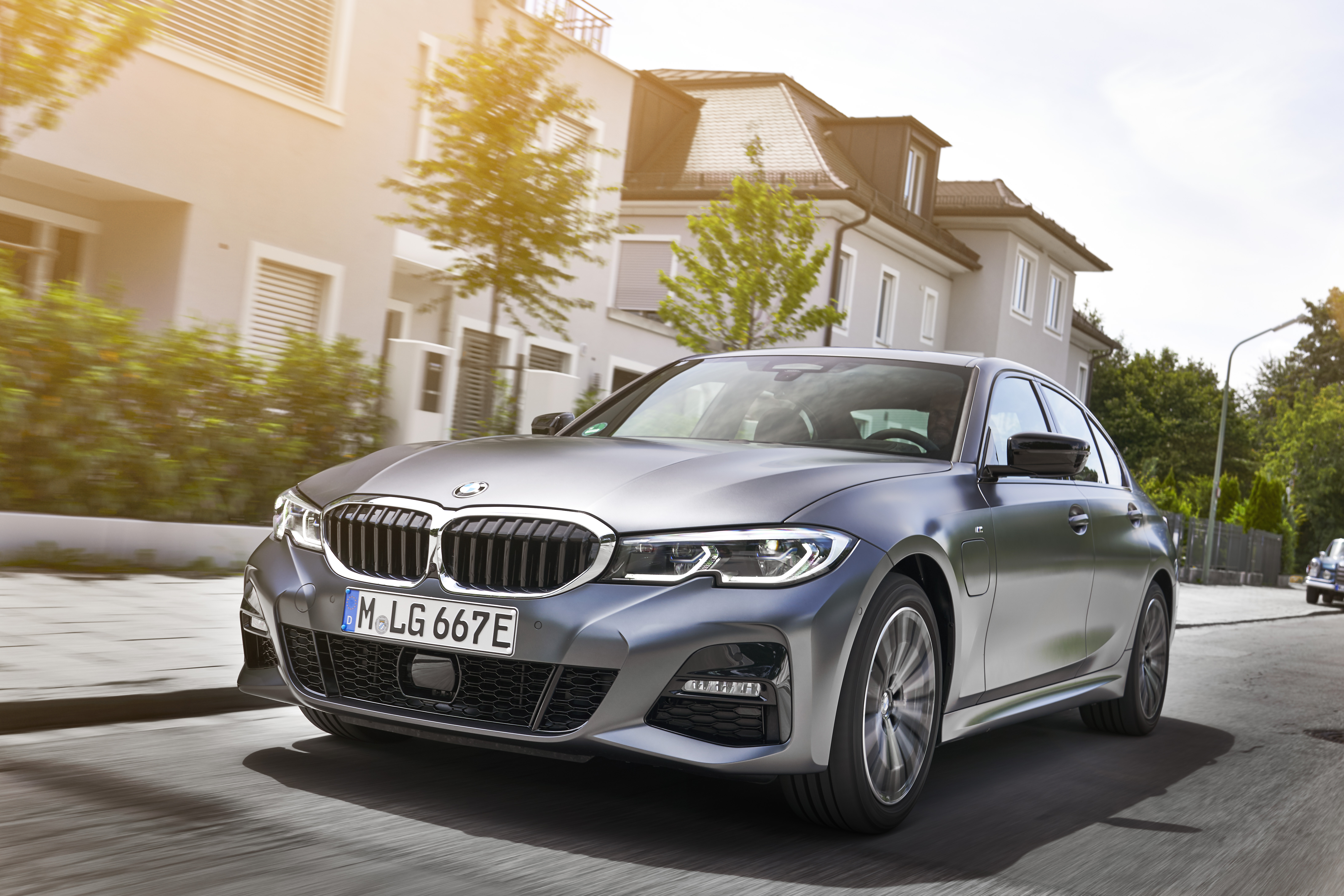 The 330e is BMW's latest hybrid