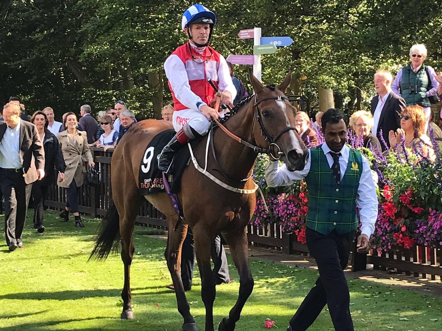 West End Girl won the Sweet Solera Stakes at Newmarket (Graham Clark)
