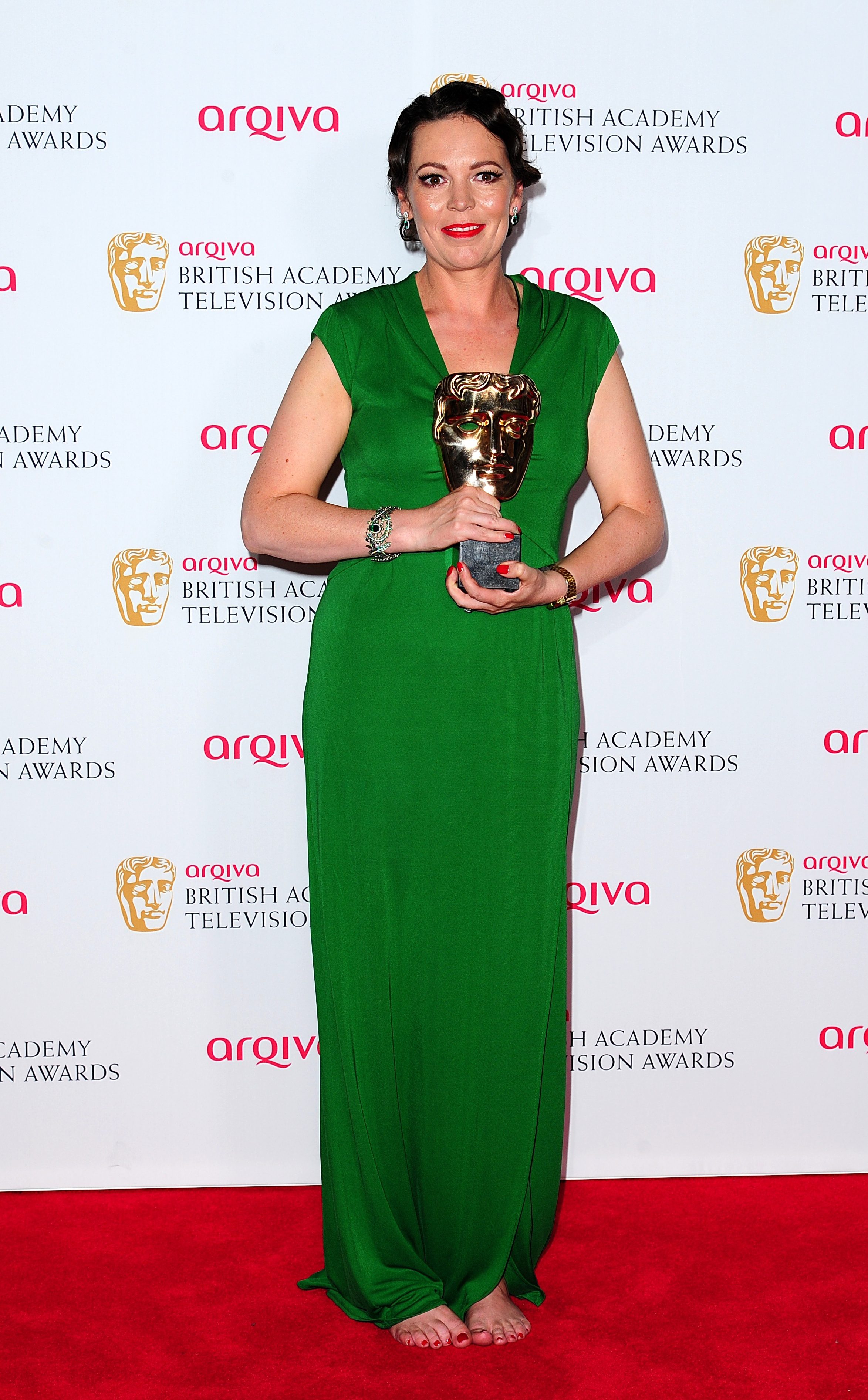 Olivia Colman won the BAFTA for best actress for Broadchurch in 2014