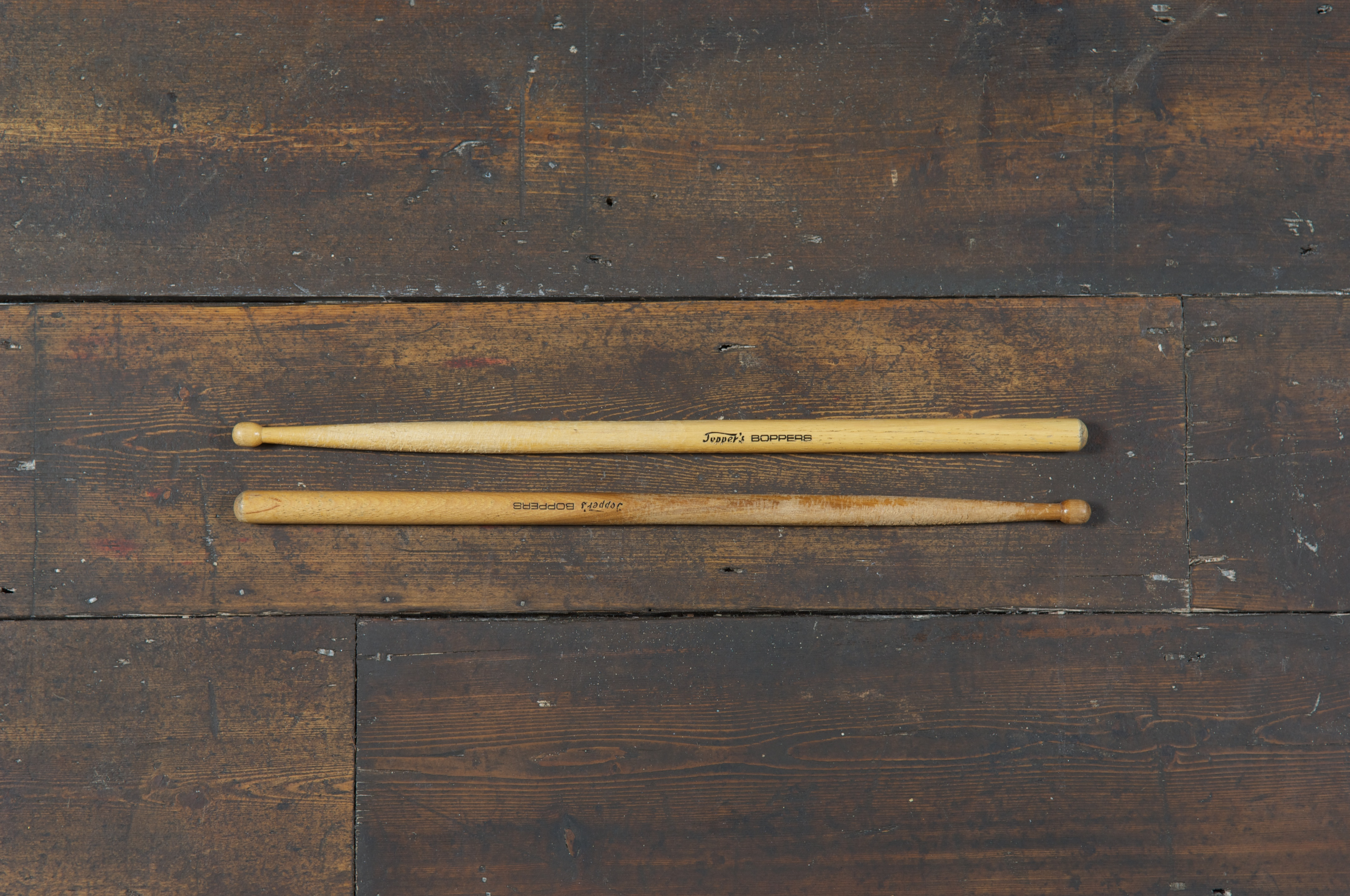 Topper Headon's drum stick