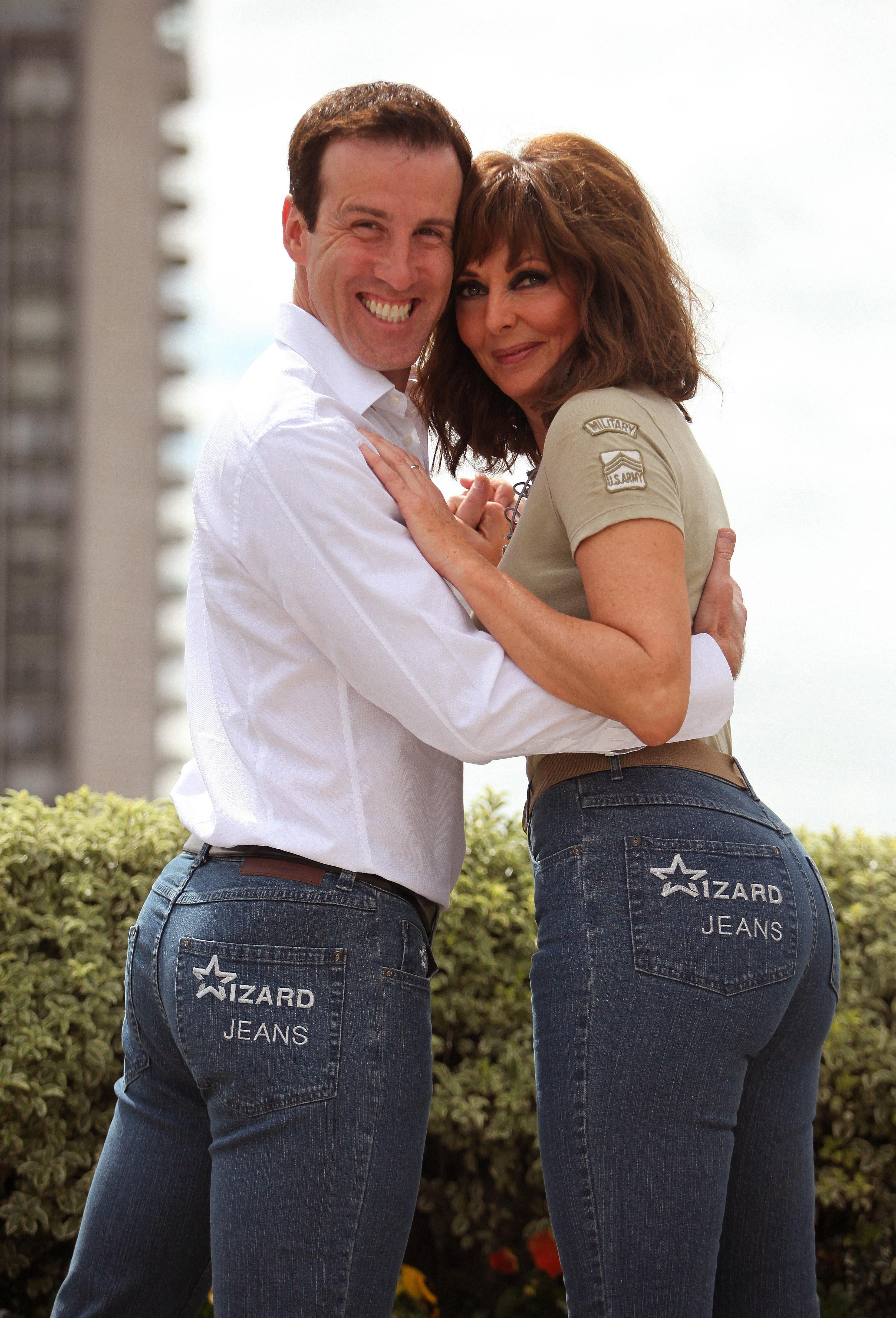 Anton du Beke and Carol Vorderman