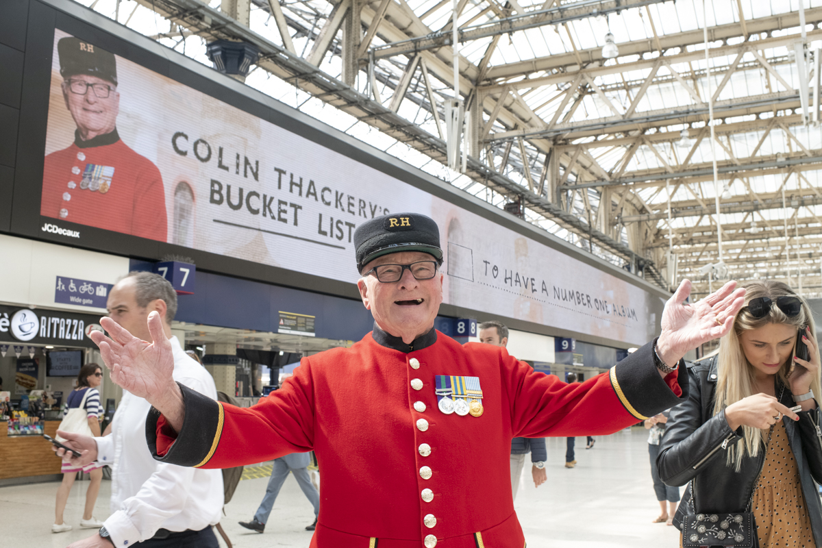 Colin Thackery at Waterloo