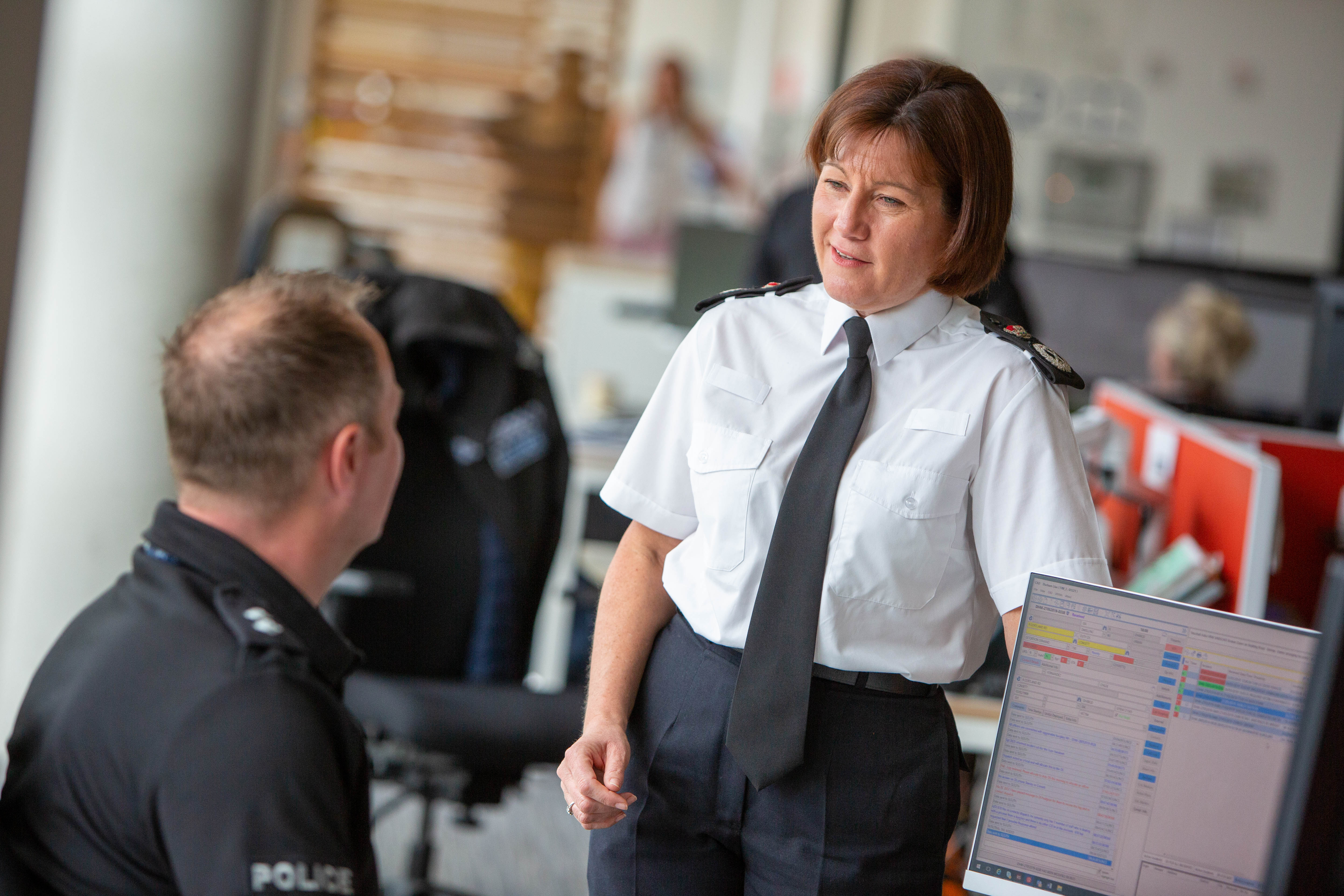 Chief Constable Jo Farrell has made the promise to her staff (Durham Police/PA)