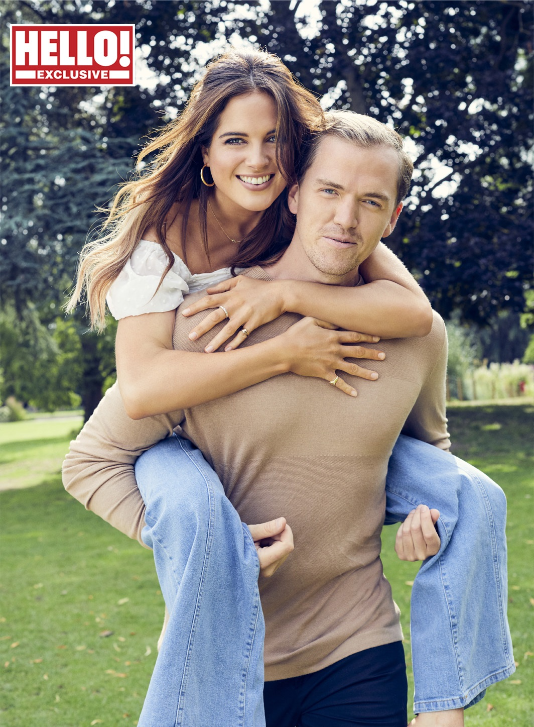 BiBinky Felstead introduces her new partner Max Fredrik Darnton