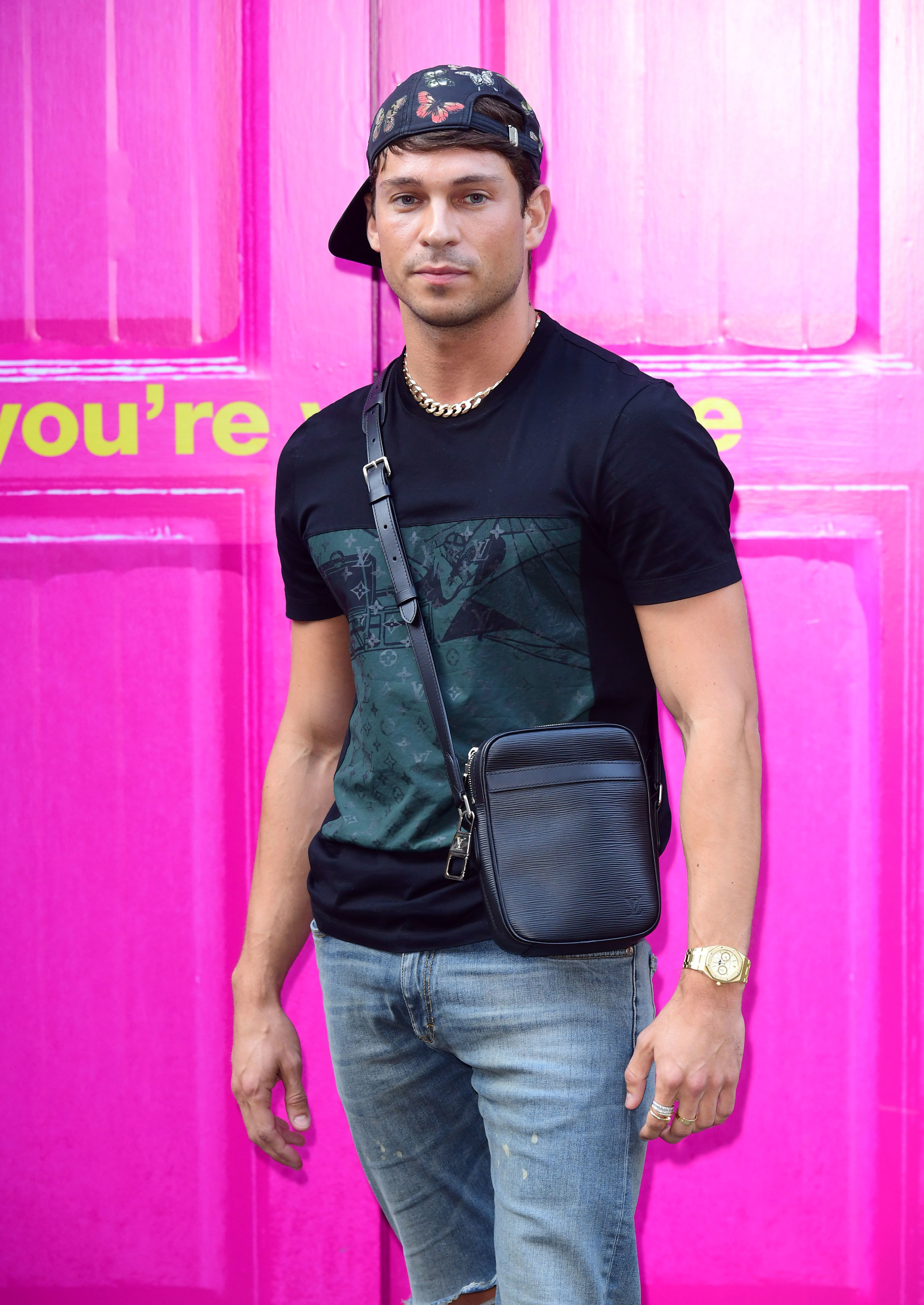 Photo of Joey Essex attending the MTV Cribs photocall at House Party, London.