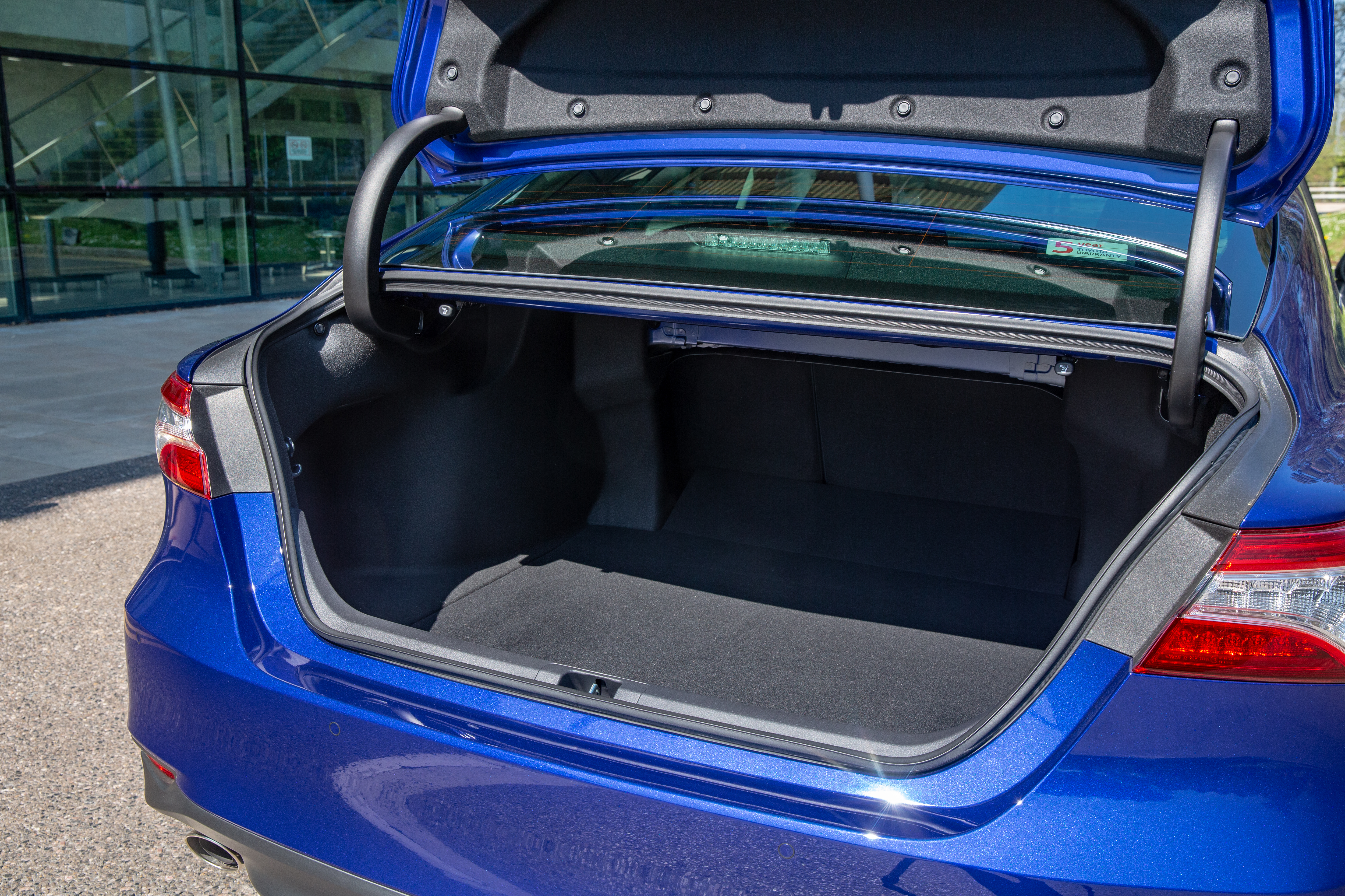 The Camry offers 524 litres of boot space