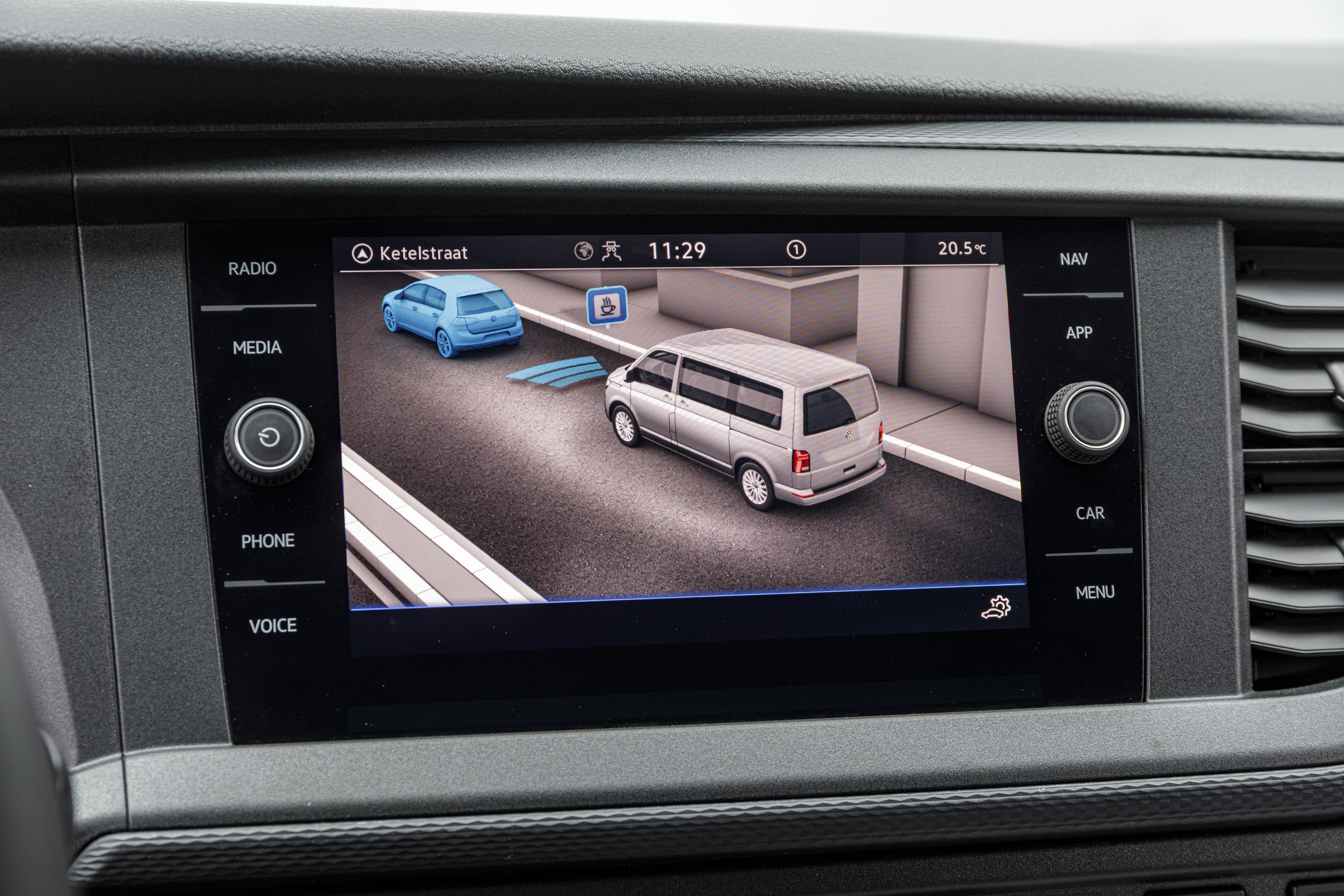 An updated infotainment system features on the T6.1