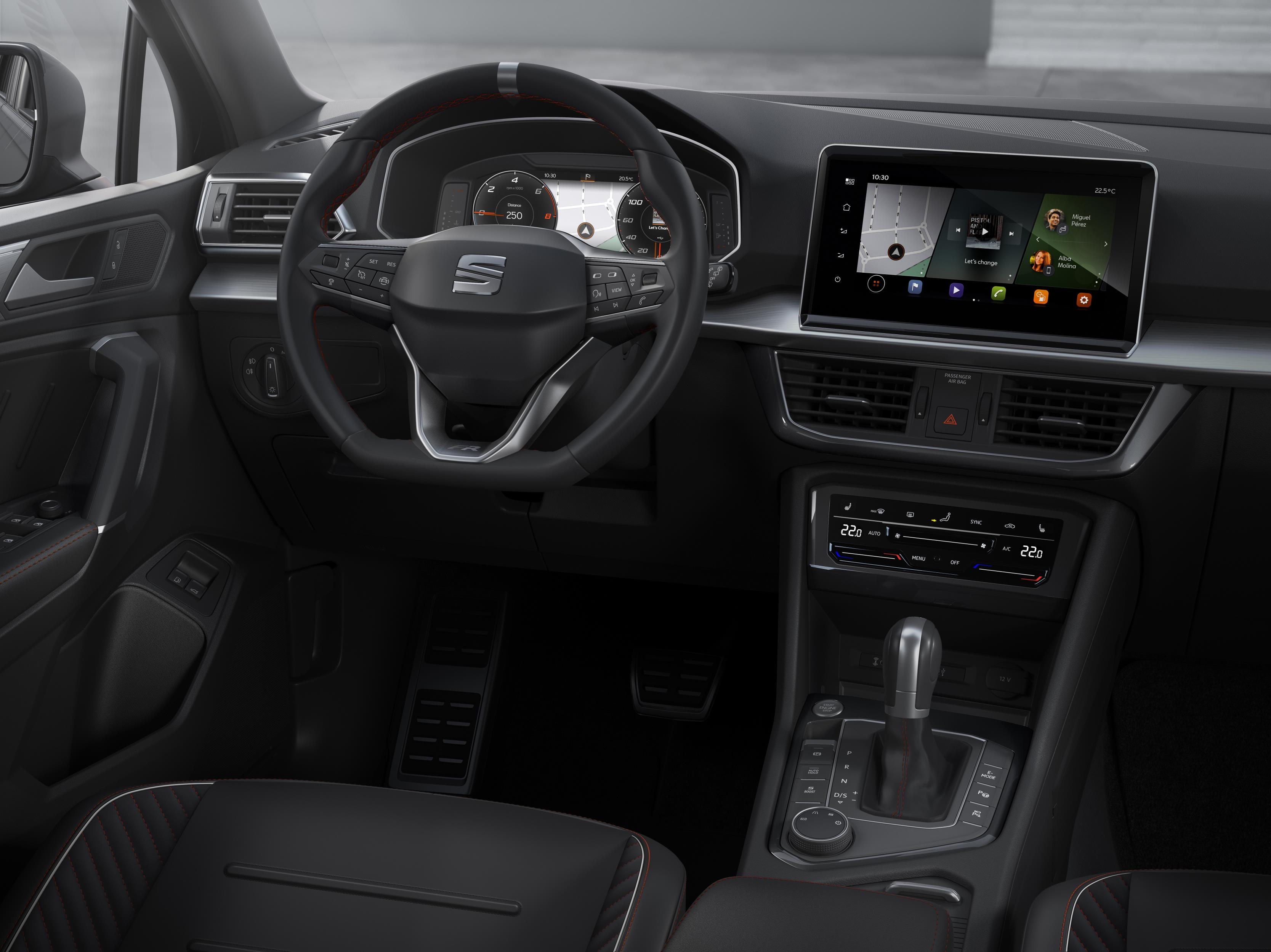 The interior remains largely the same as the regular Tarraco