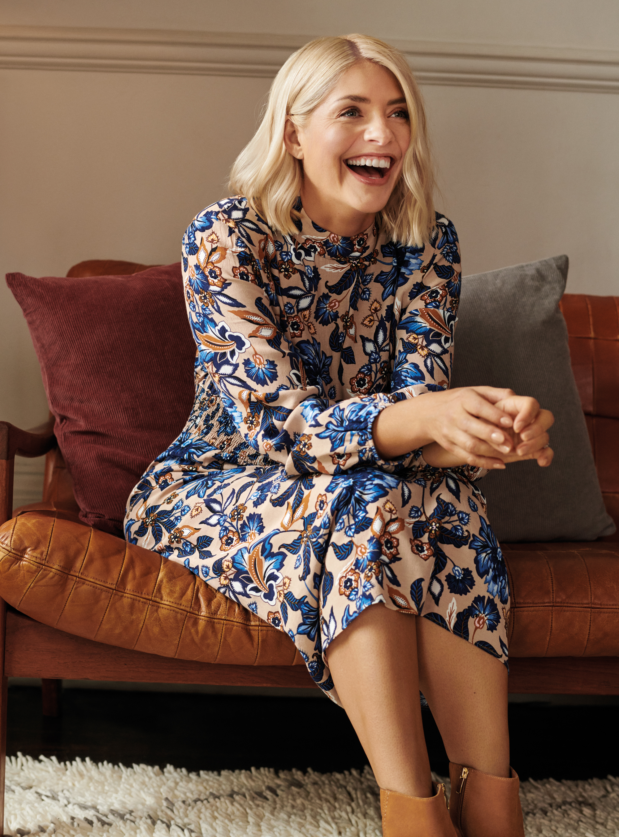 Holly Willoughby in the M&S autumn campaign