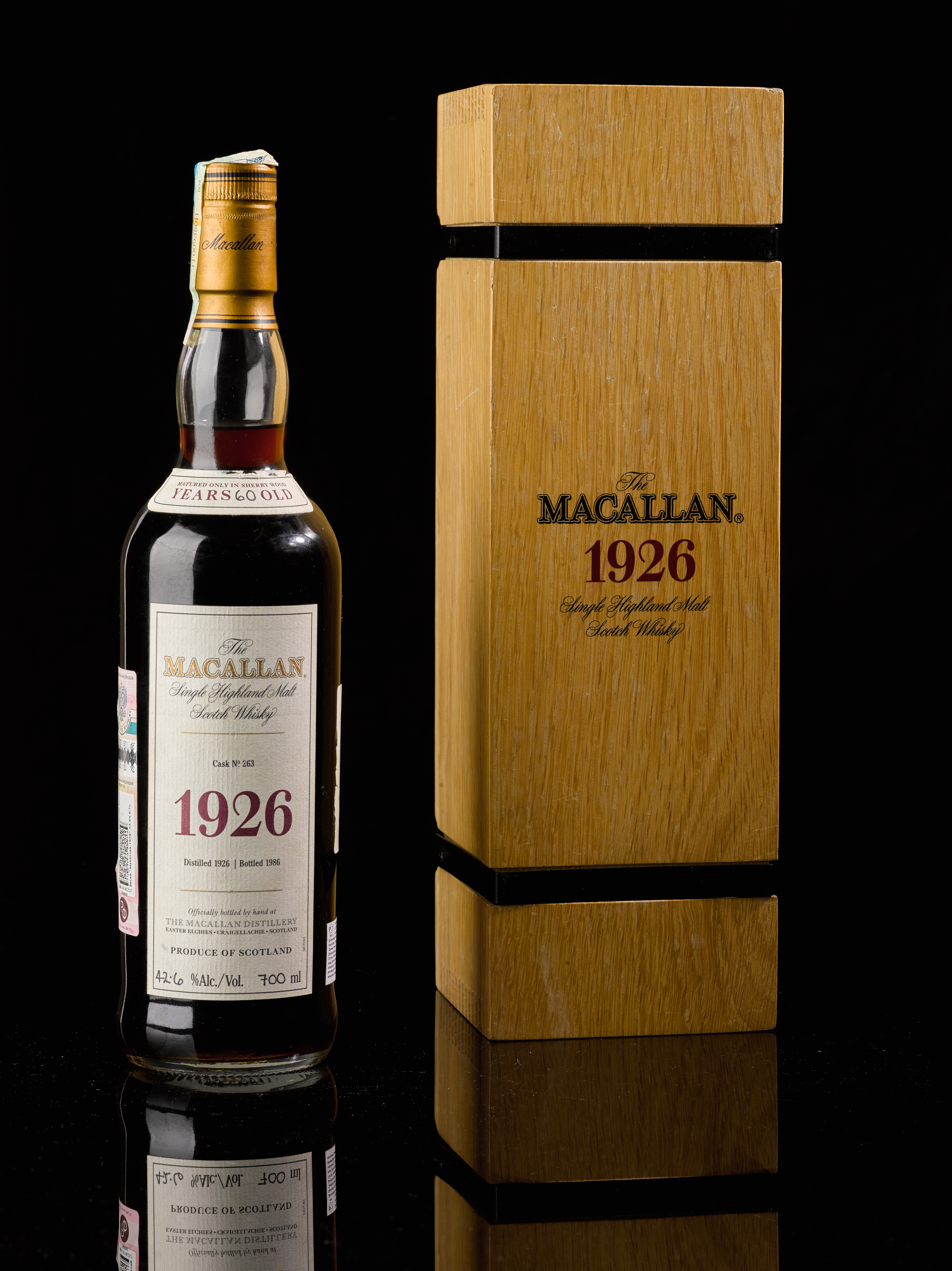 Macallan 60 years old 1926