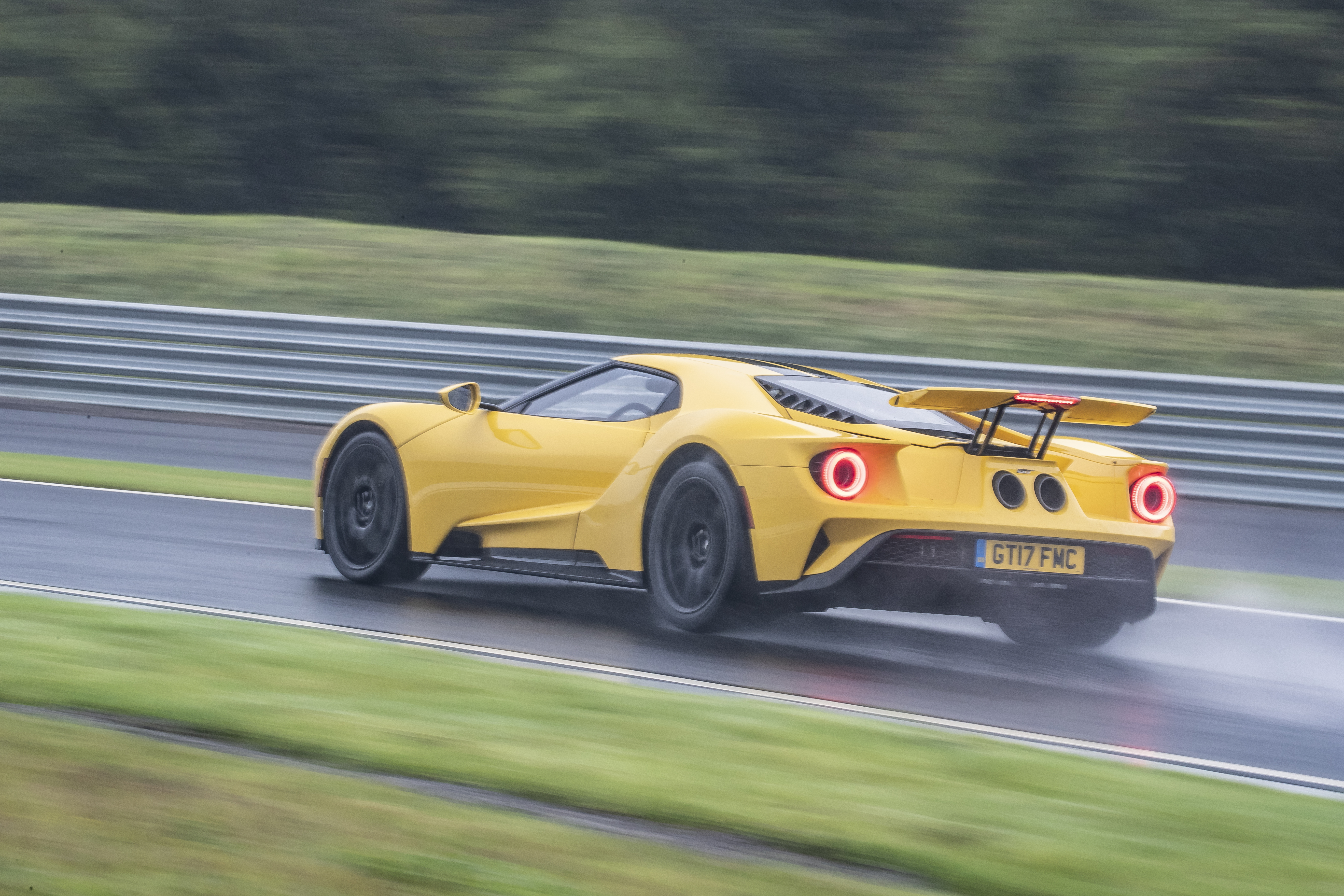 Despite tricky conditions, the GT remained manageable