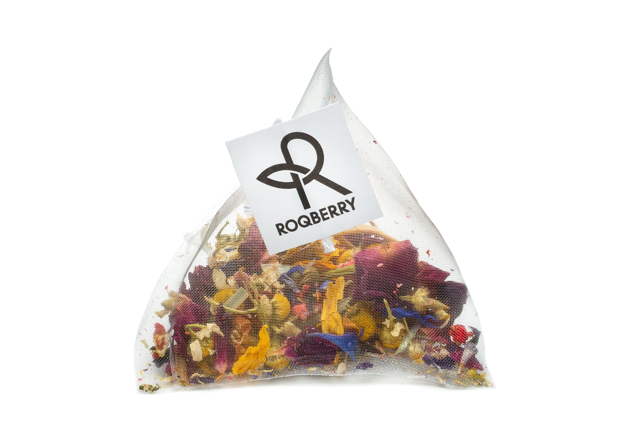 Bag of Roqberry loose tea