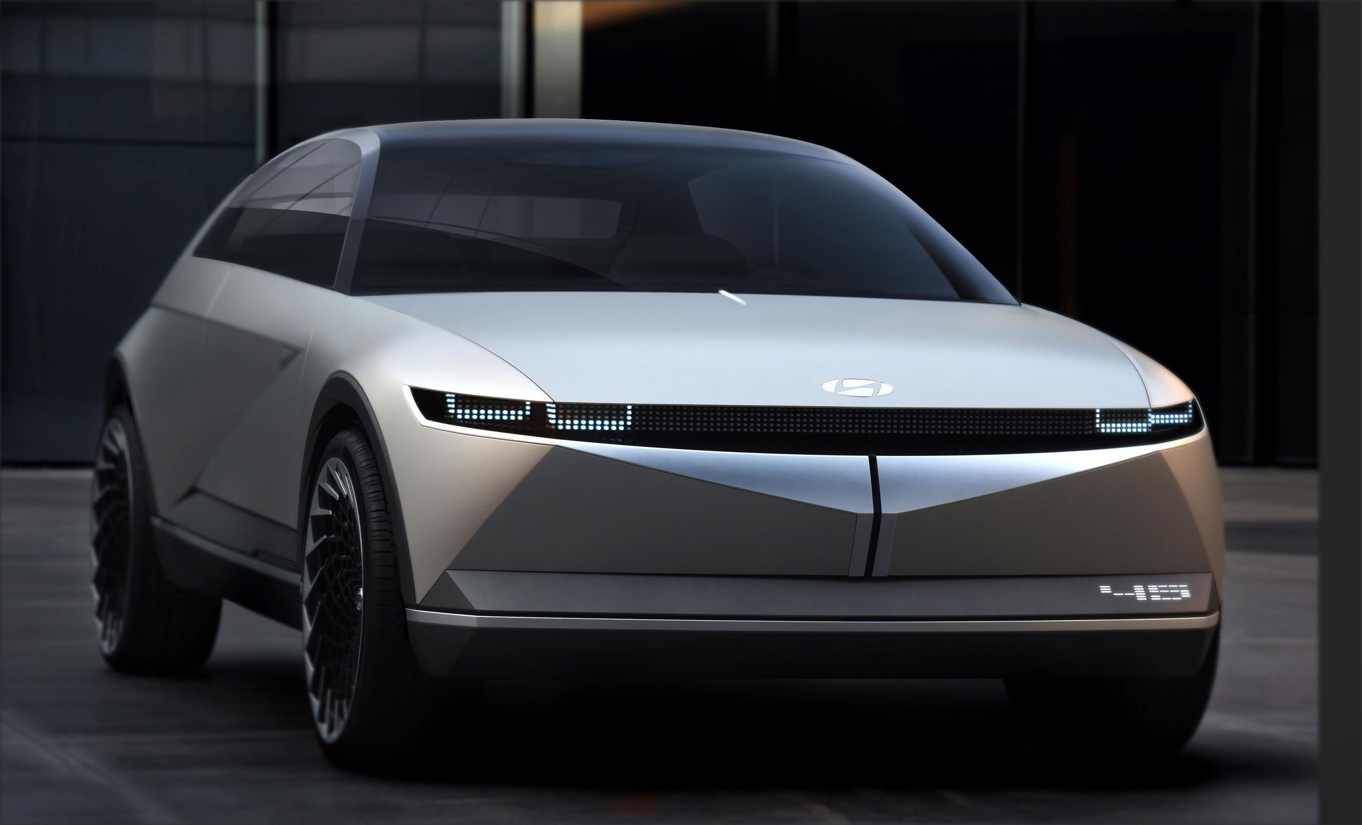 The Hyundai 45 Concept debuts an angular new look