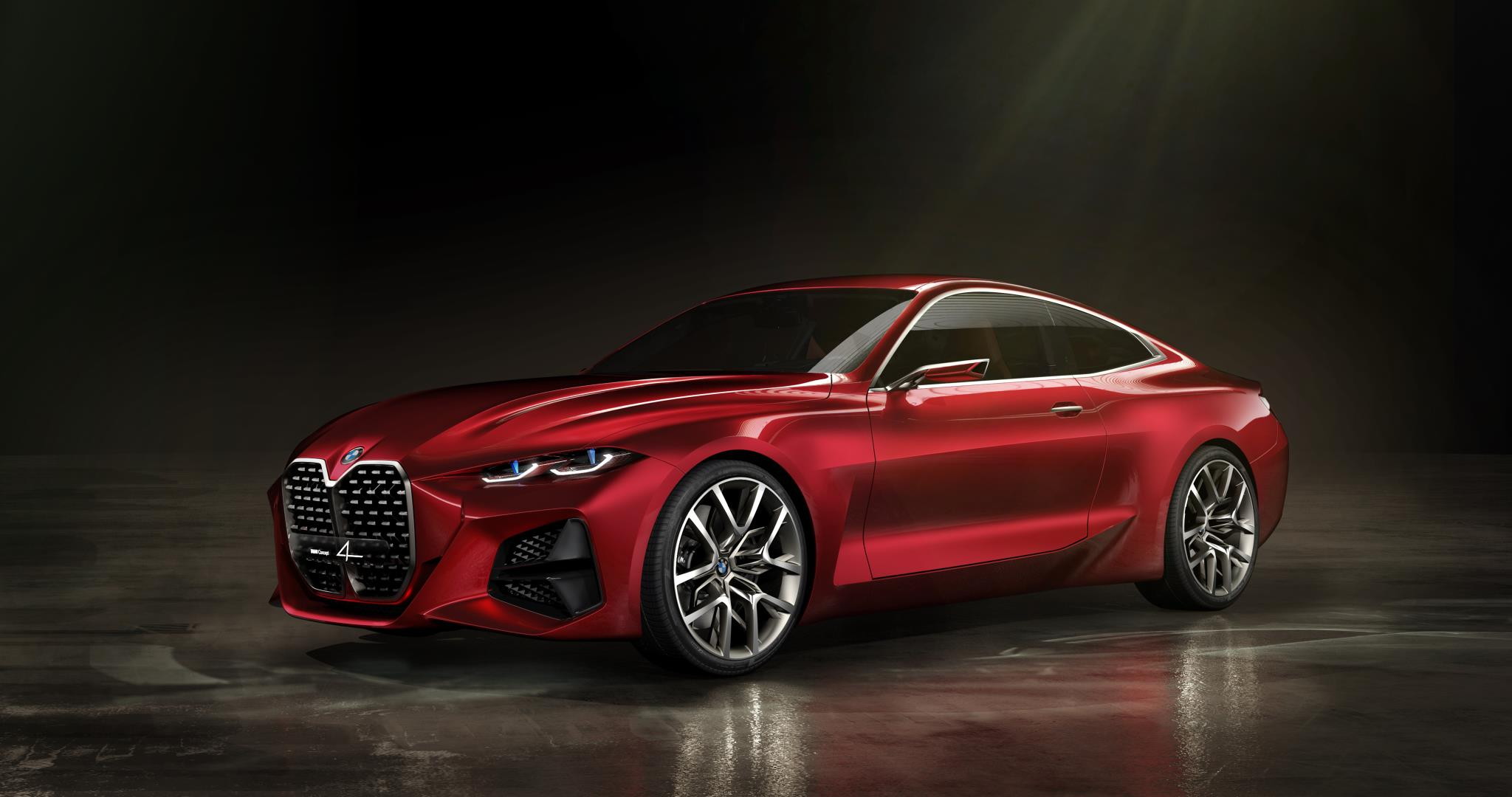 The Concept 4 gives a glimpse of what the upcoming 4 Series could look like