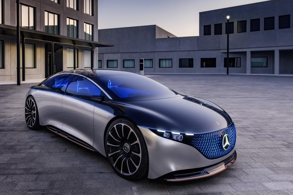 The EQS is the latest all-electric concept from Mercedes