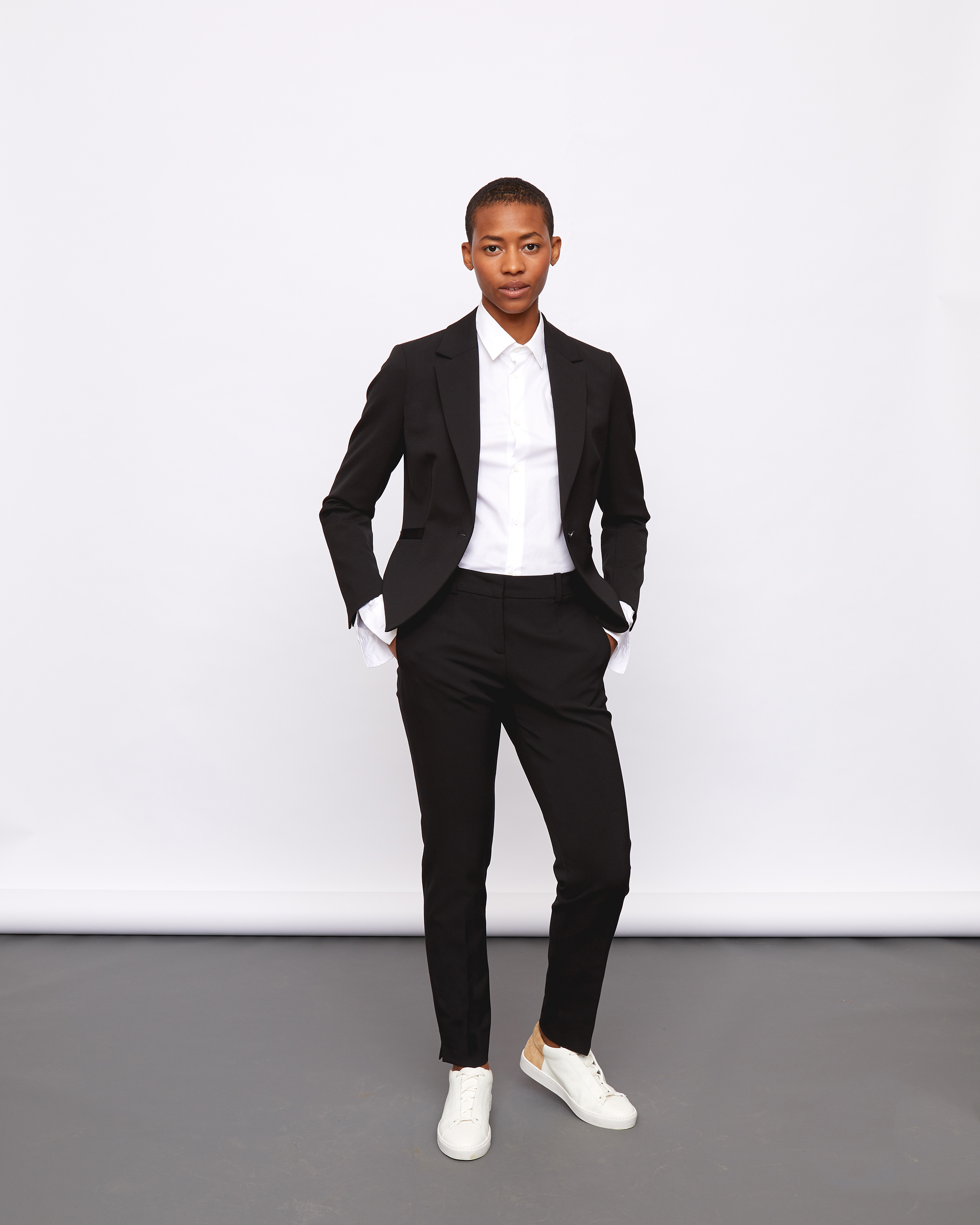 The Smart Set jacket and trousers