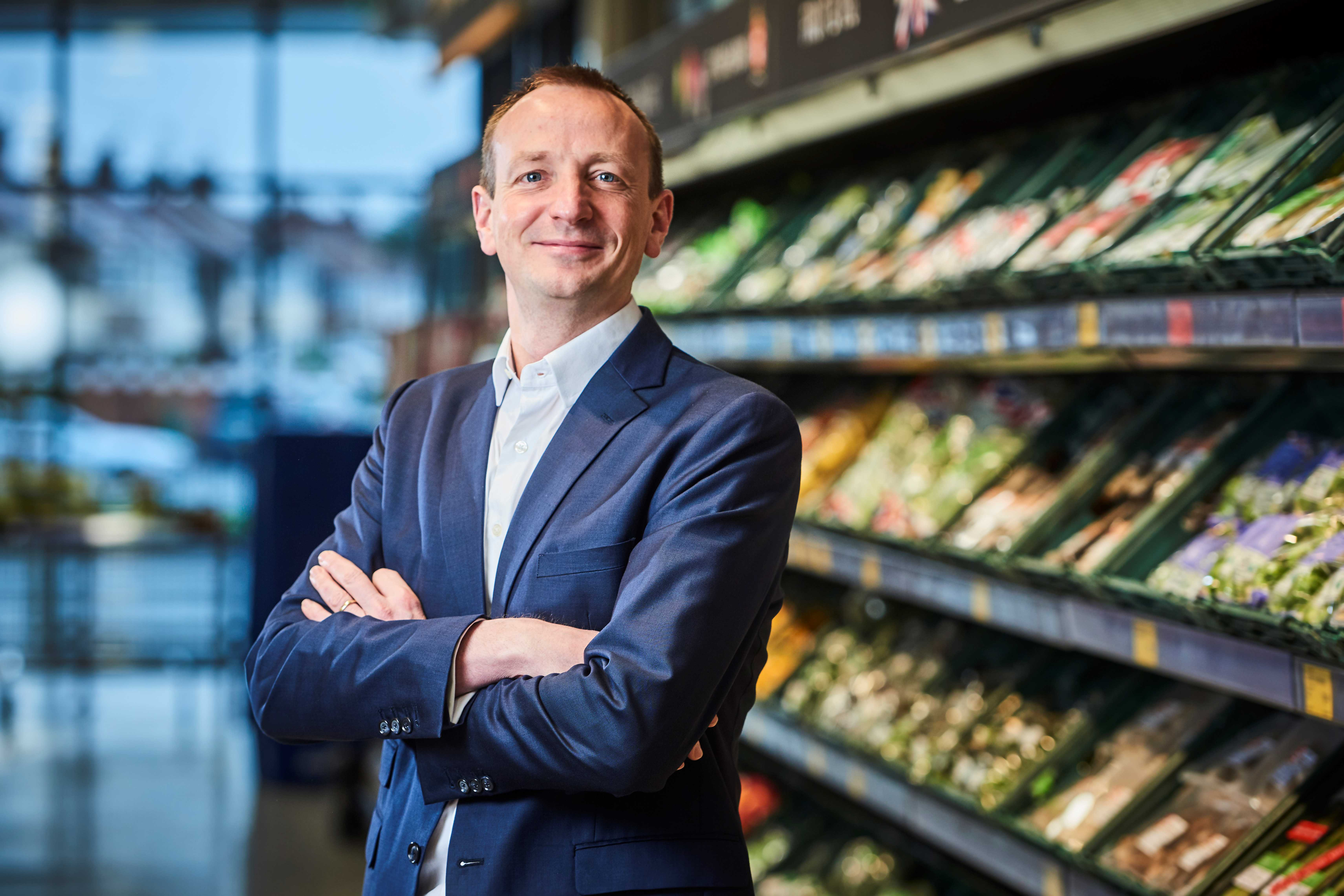 Giles Hurley, CEO of Aldi UK & Ireland (Aldi/PA)