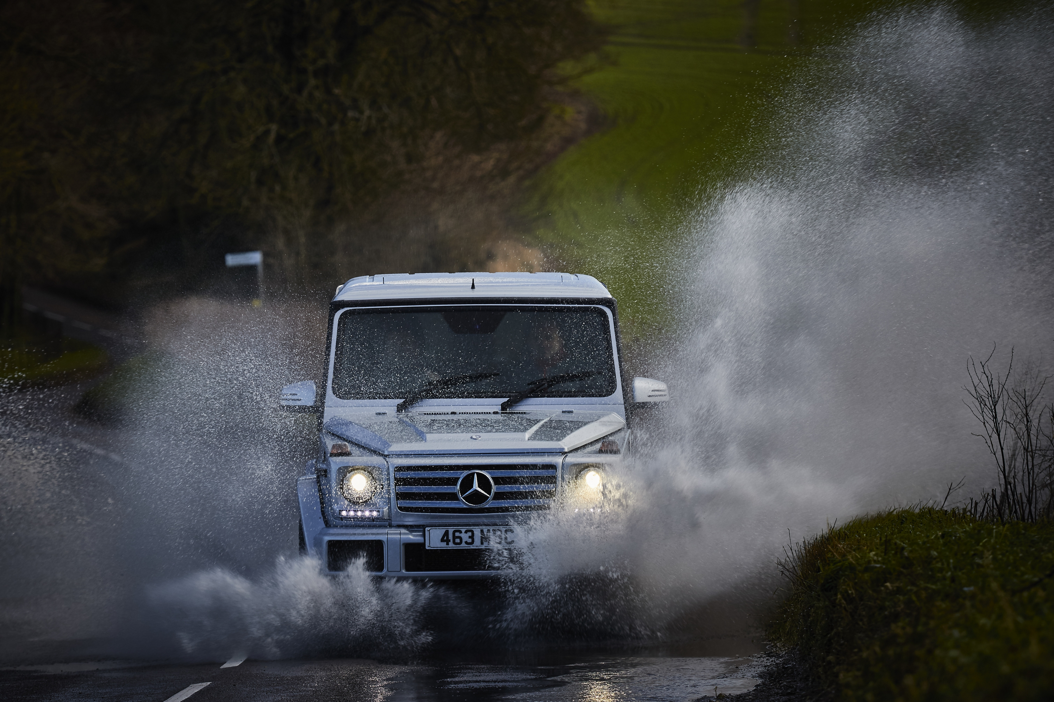 The G-Class is an icon of the off-roader world