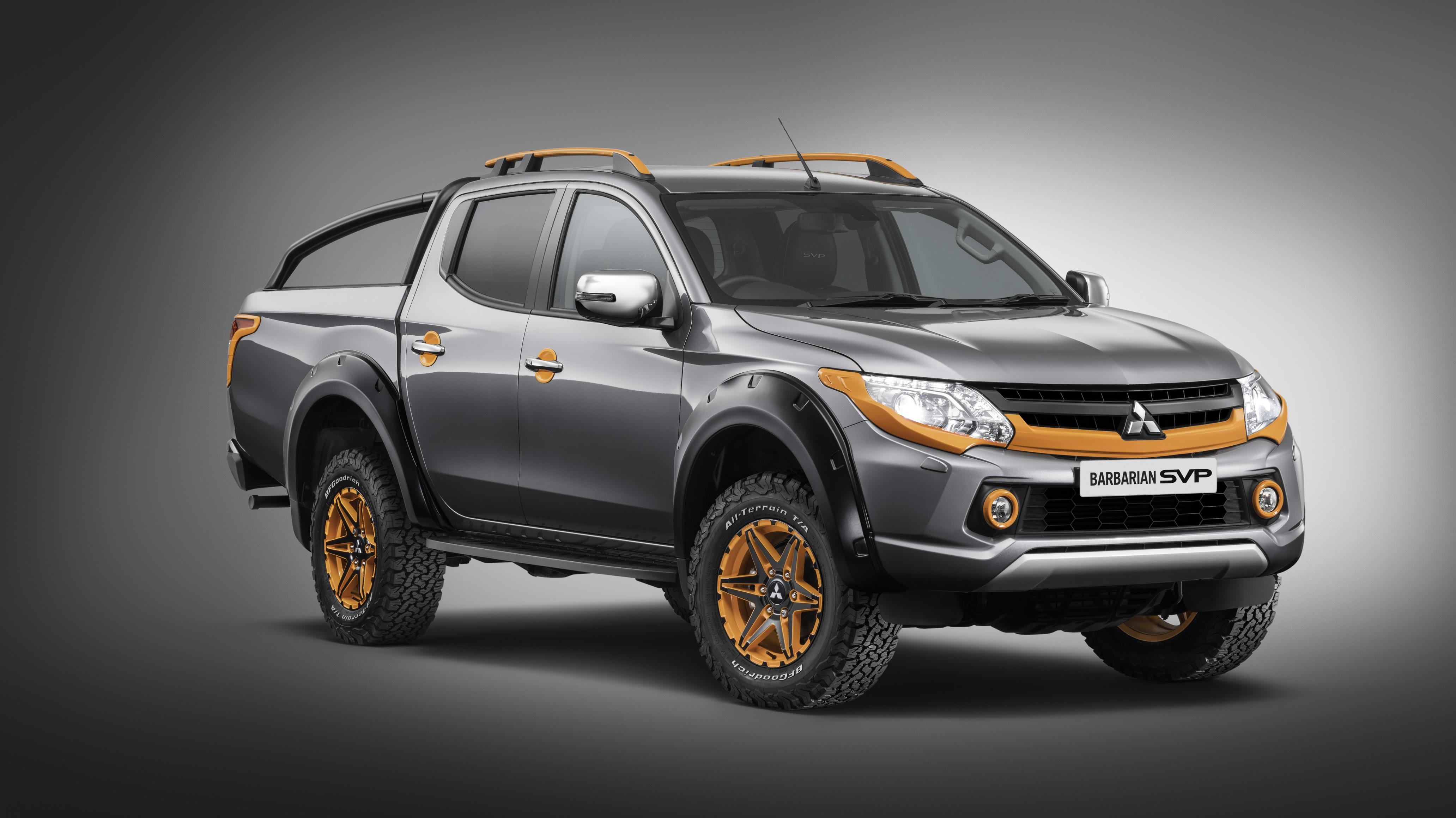 The L200 is a rugged pick-up truck