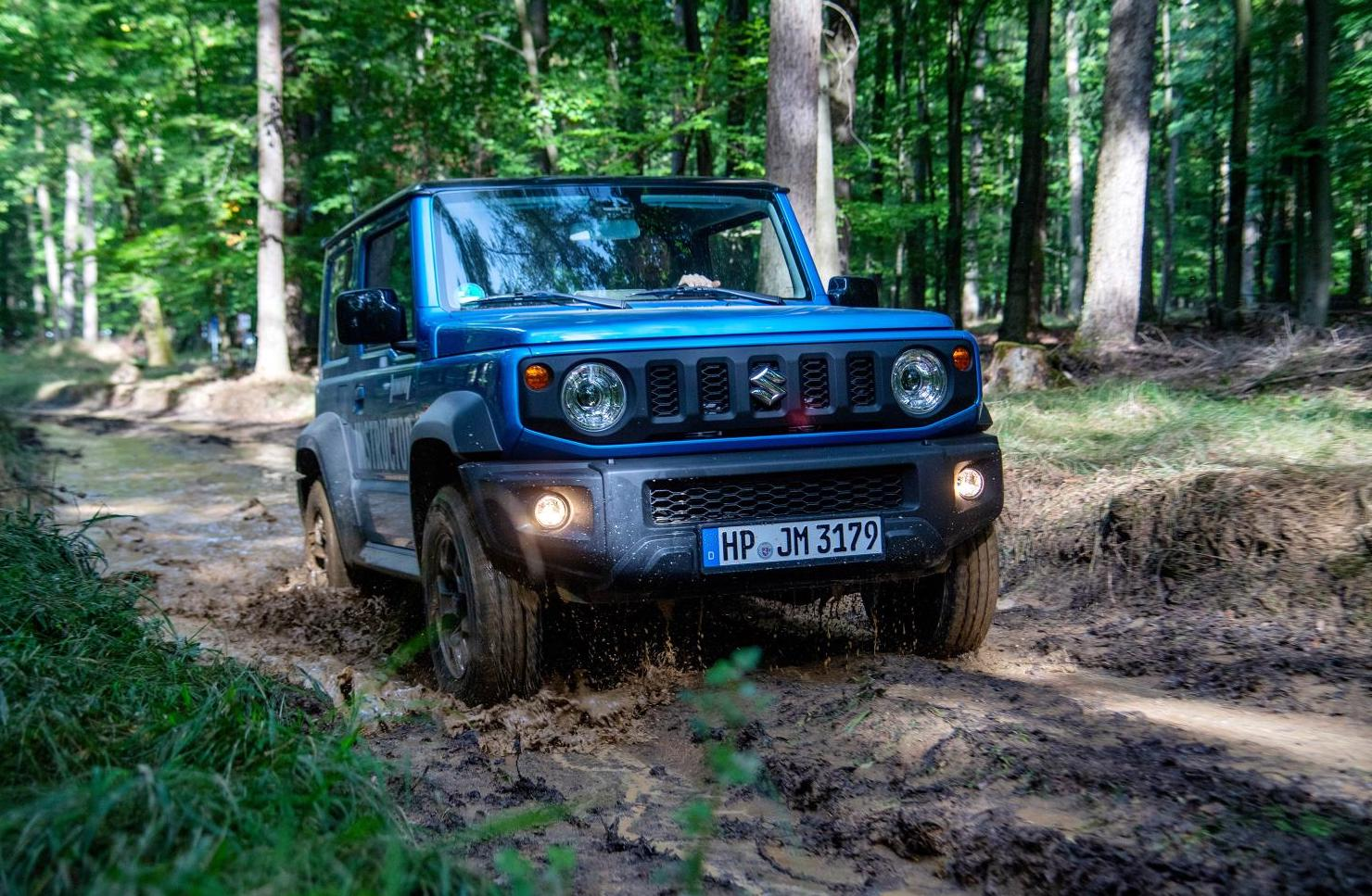 The Jimny is an affordable off-roader