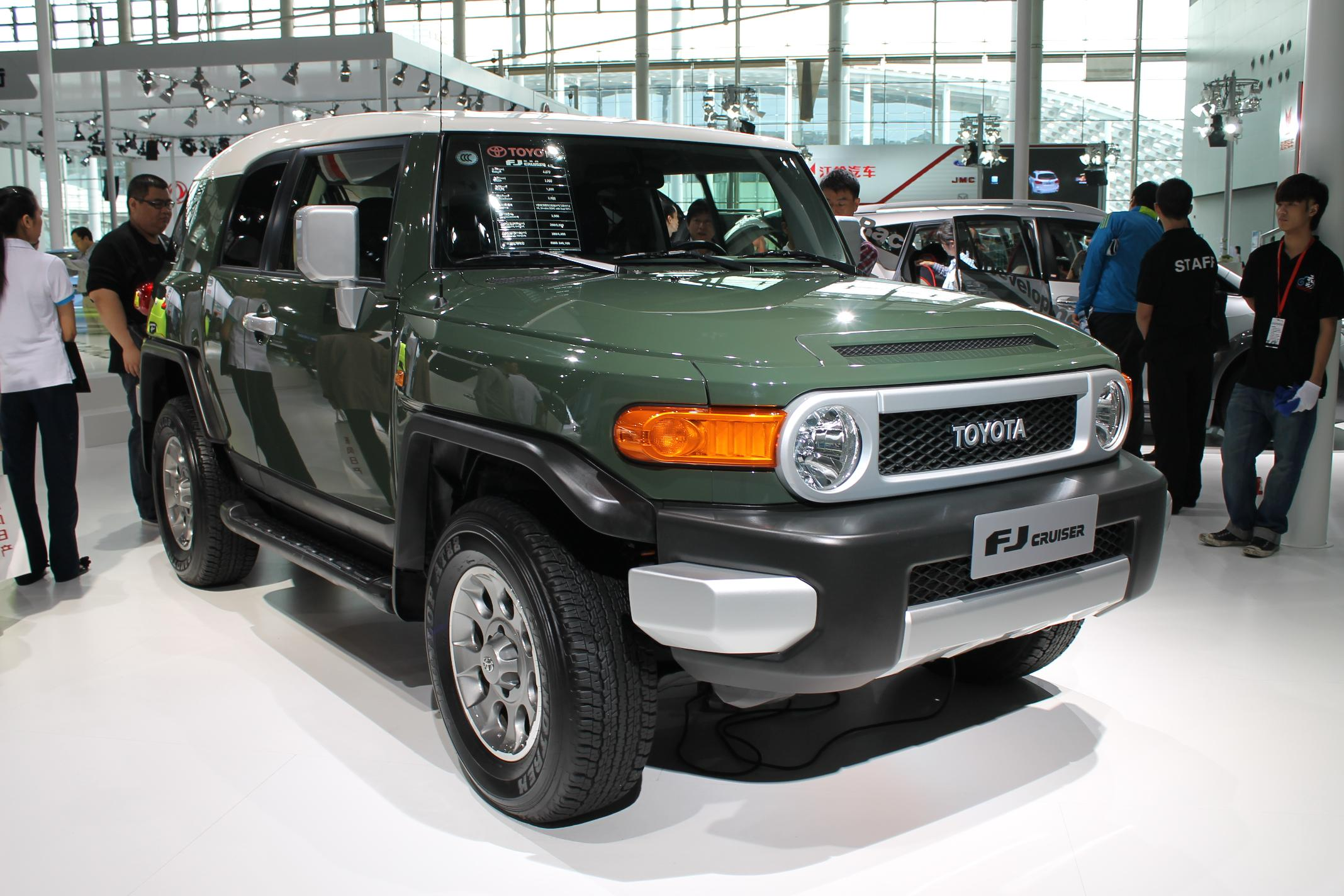 The FJ Cruiser was never officially introduced to the UK, but many were imported