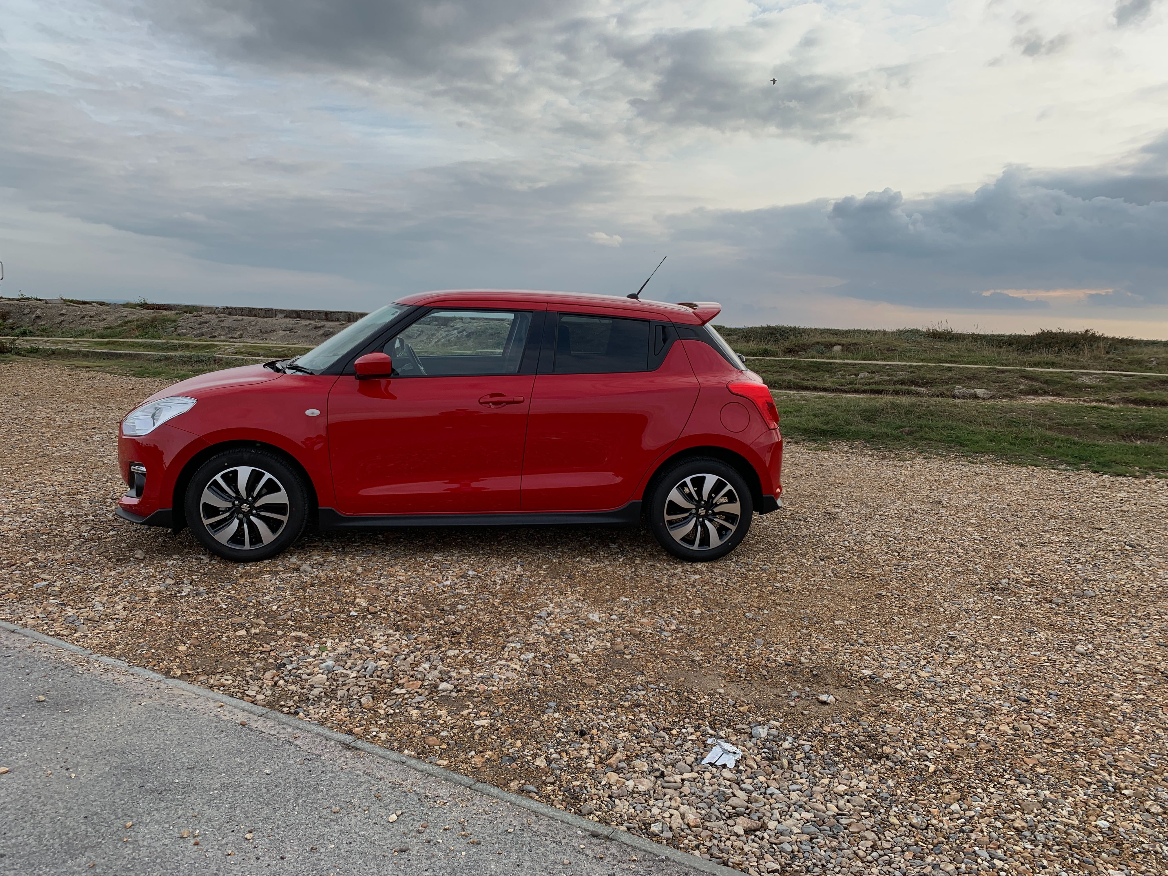 Despite its compact proportions, the Swift is still very practical