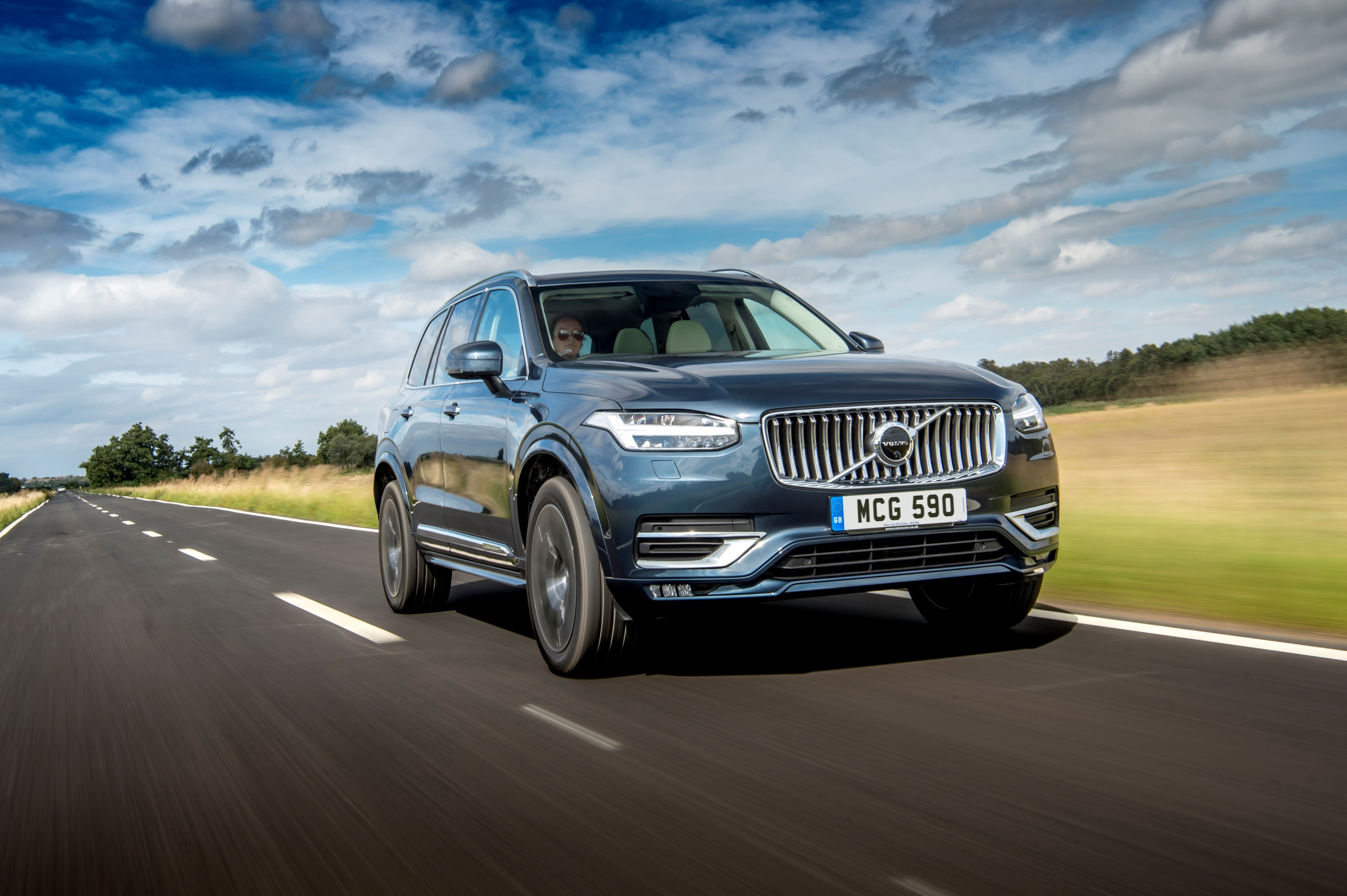 Well-sorted suspension means the XC90 feels comfortable at all times
