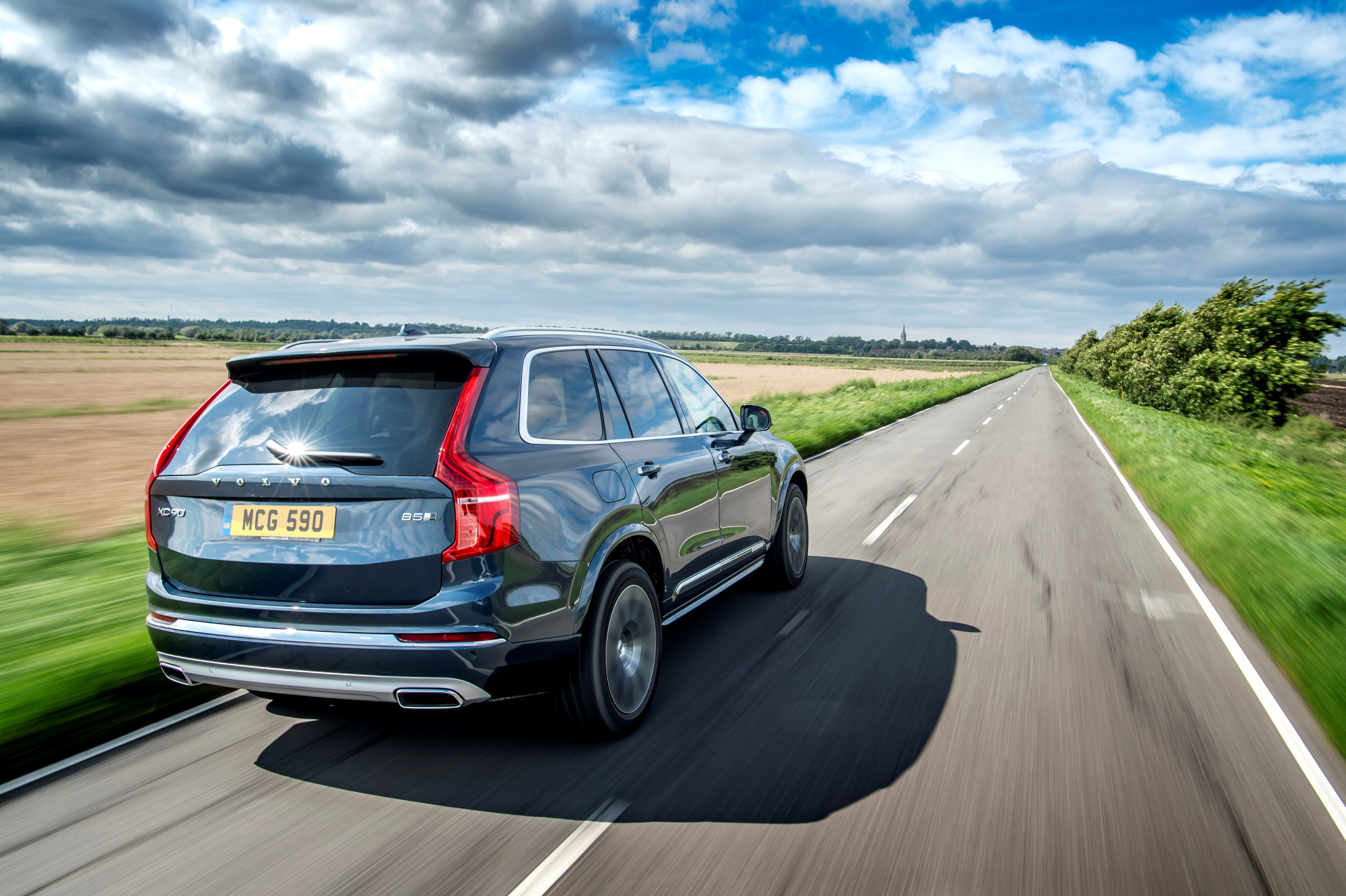 Long journeys are where the XC90 feels most at home