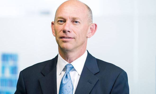 Alistair Cox, Hays CEO
