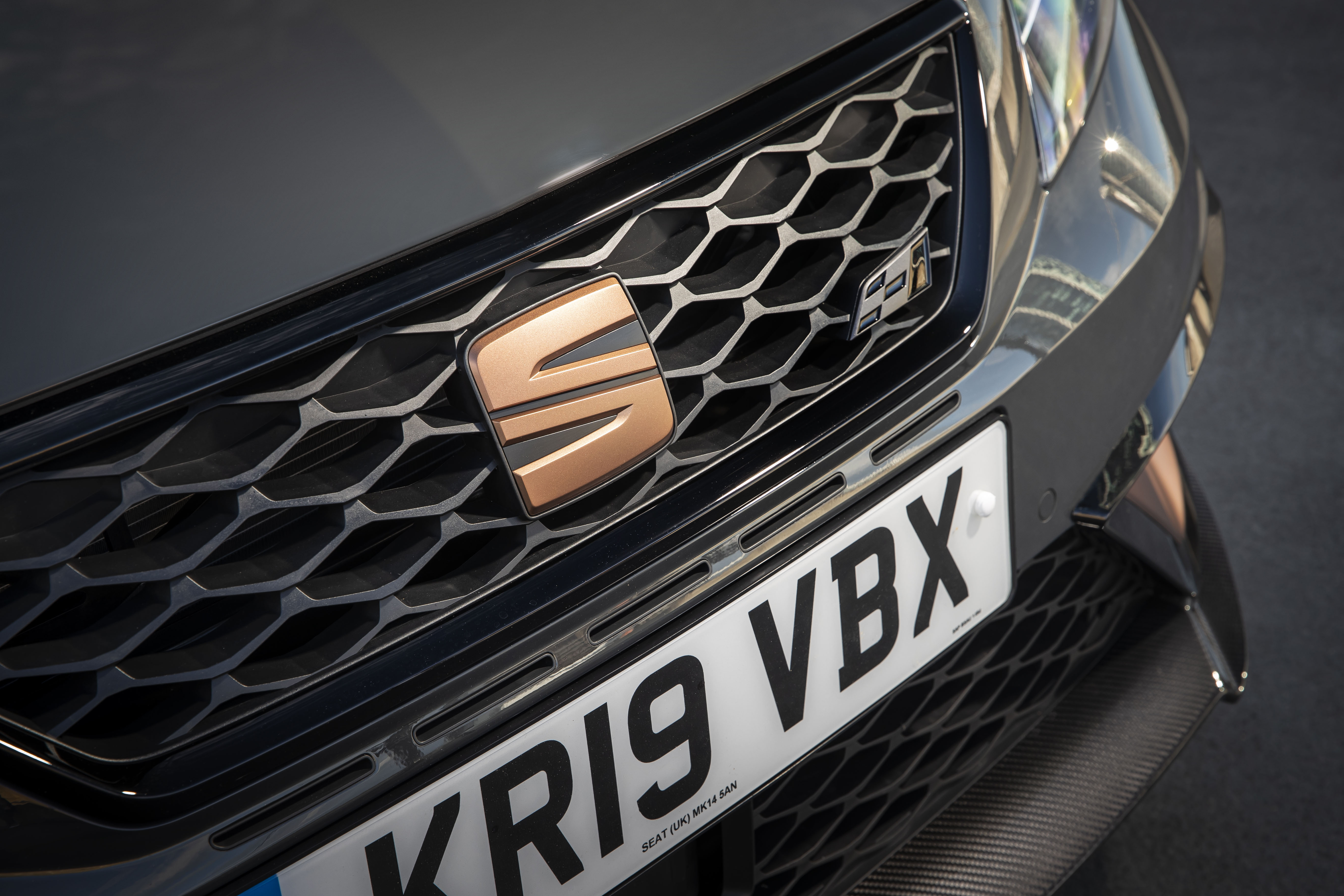 Even the Seat badge gets the bronze treatment