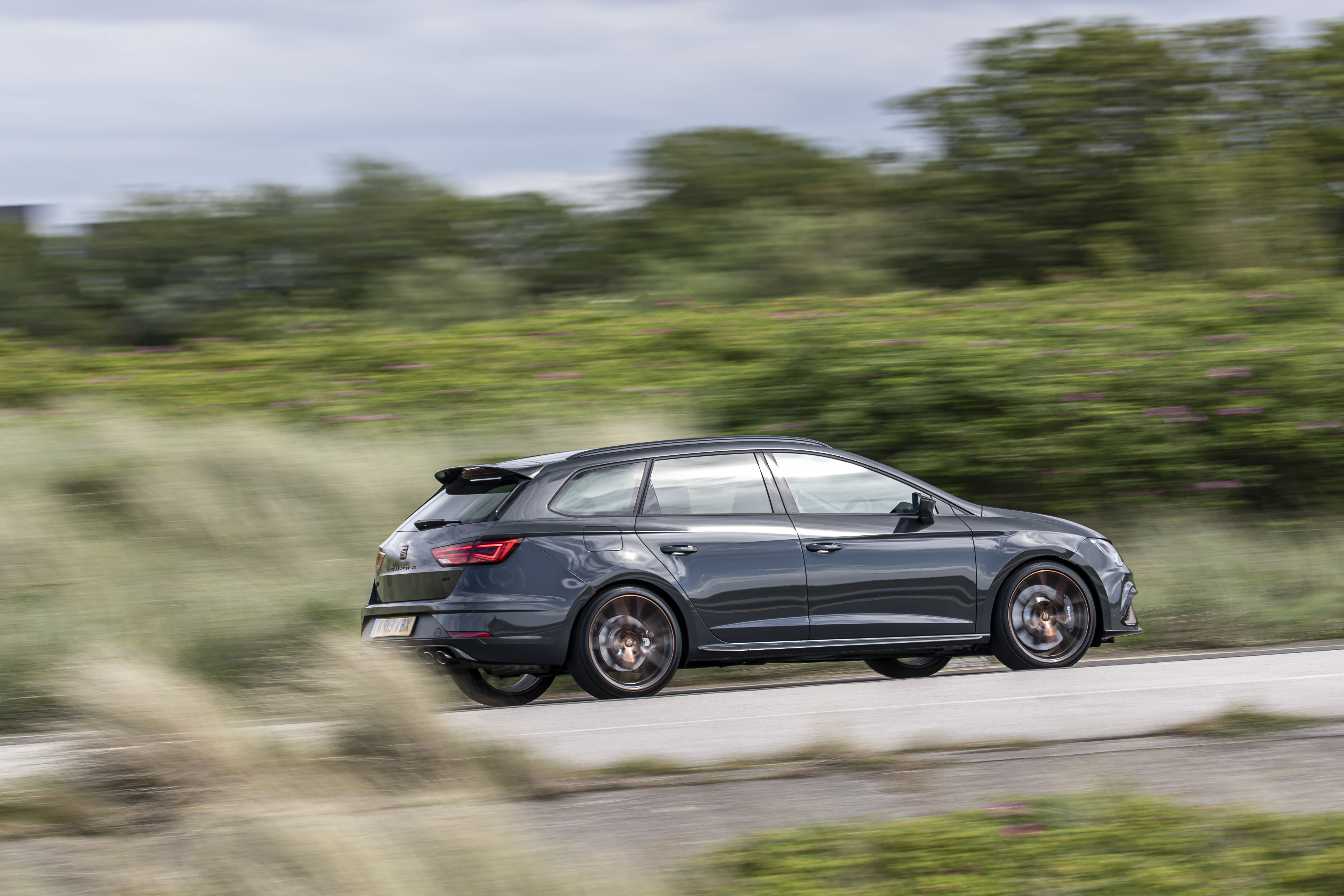 The Cupra R remains compliant even on UK roads
