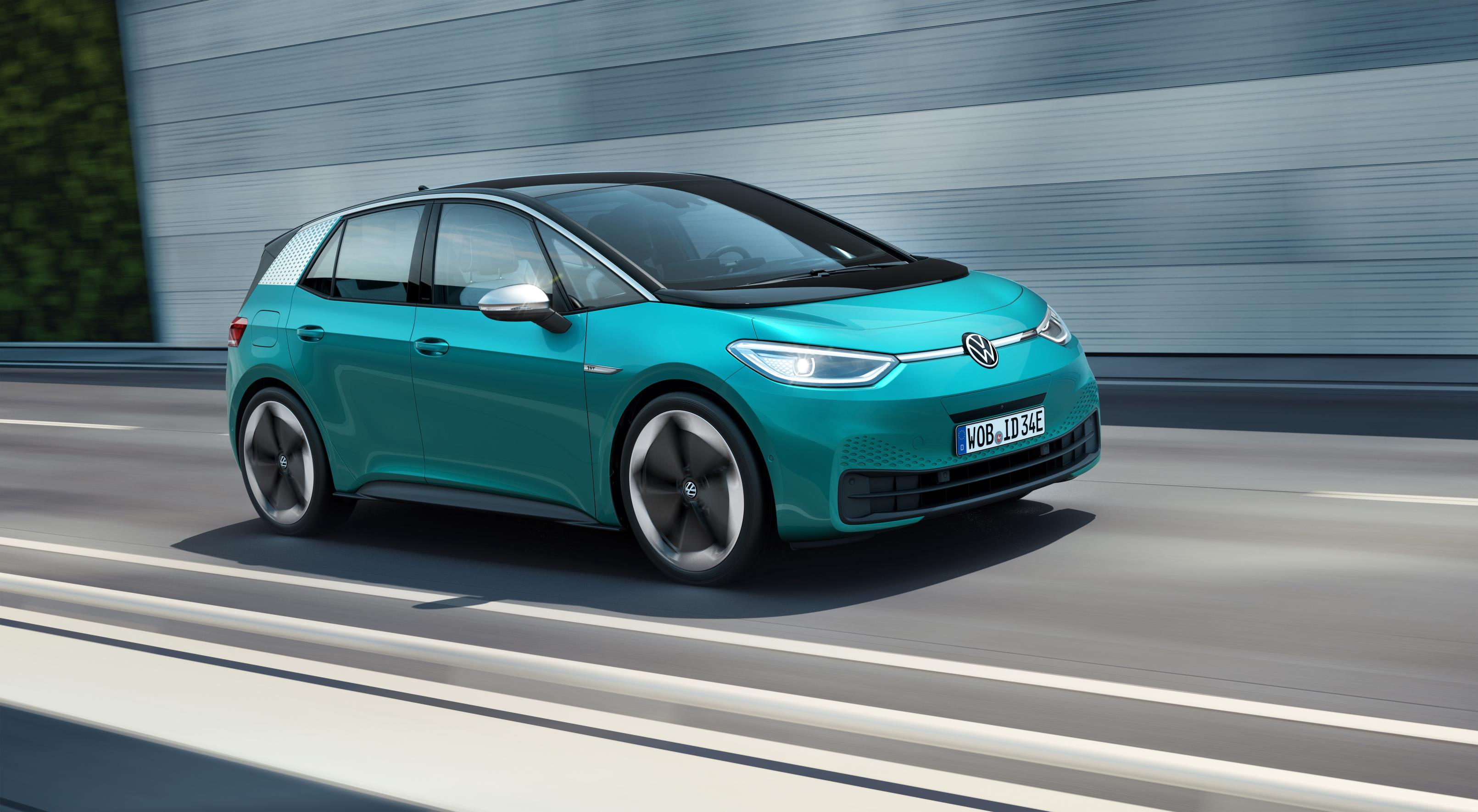 The ID 3 kicks off VW's electric car offensive