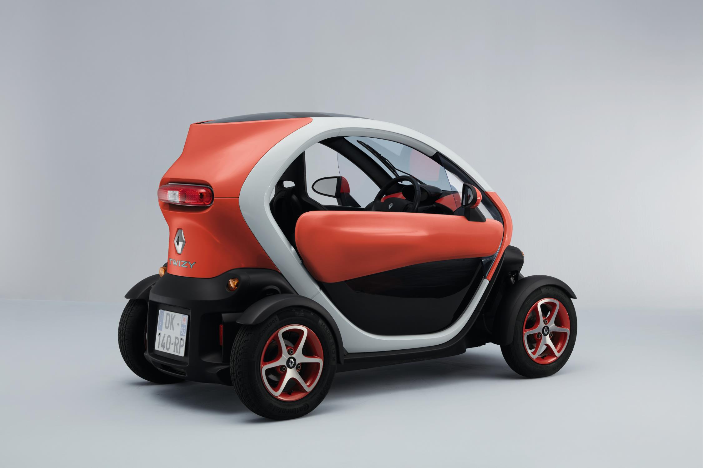 The Twizy is a car designed for urban environments