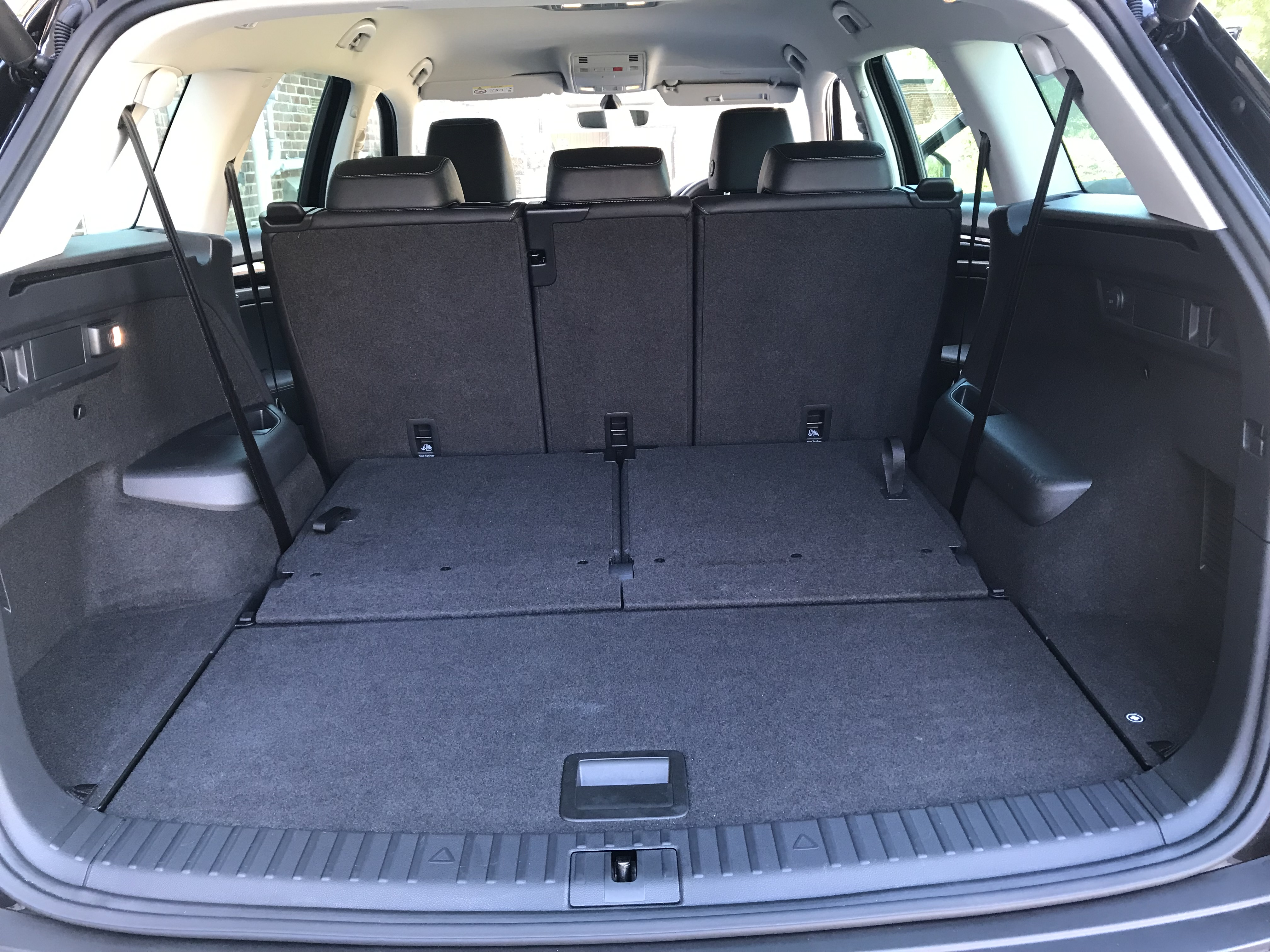 The Kodiaq's boot offers up a massive load area