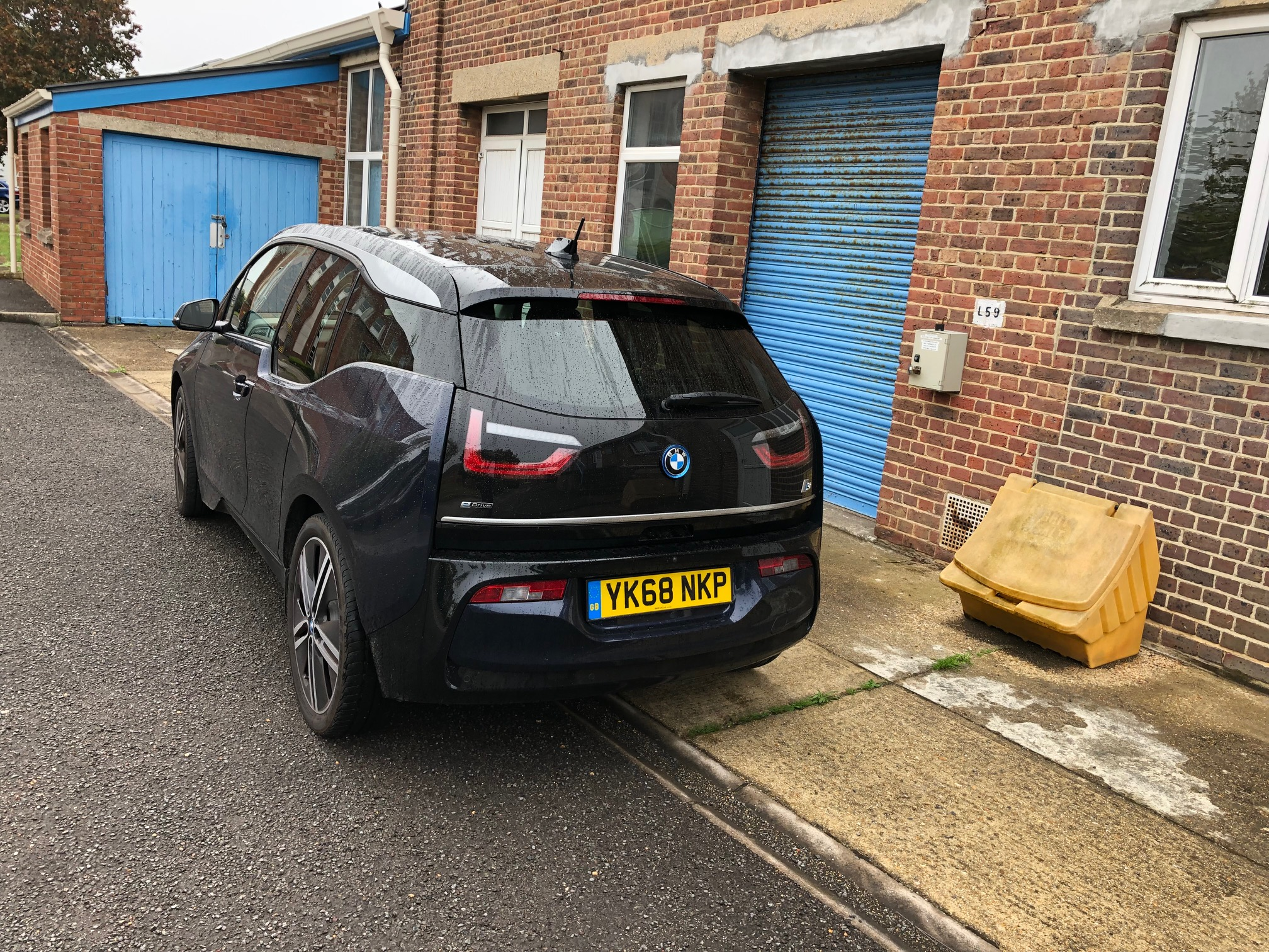 The i3 gets a lot of attention wherever it goes