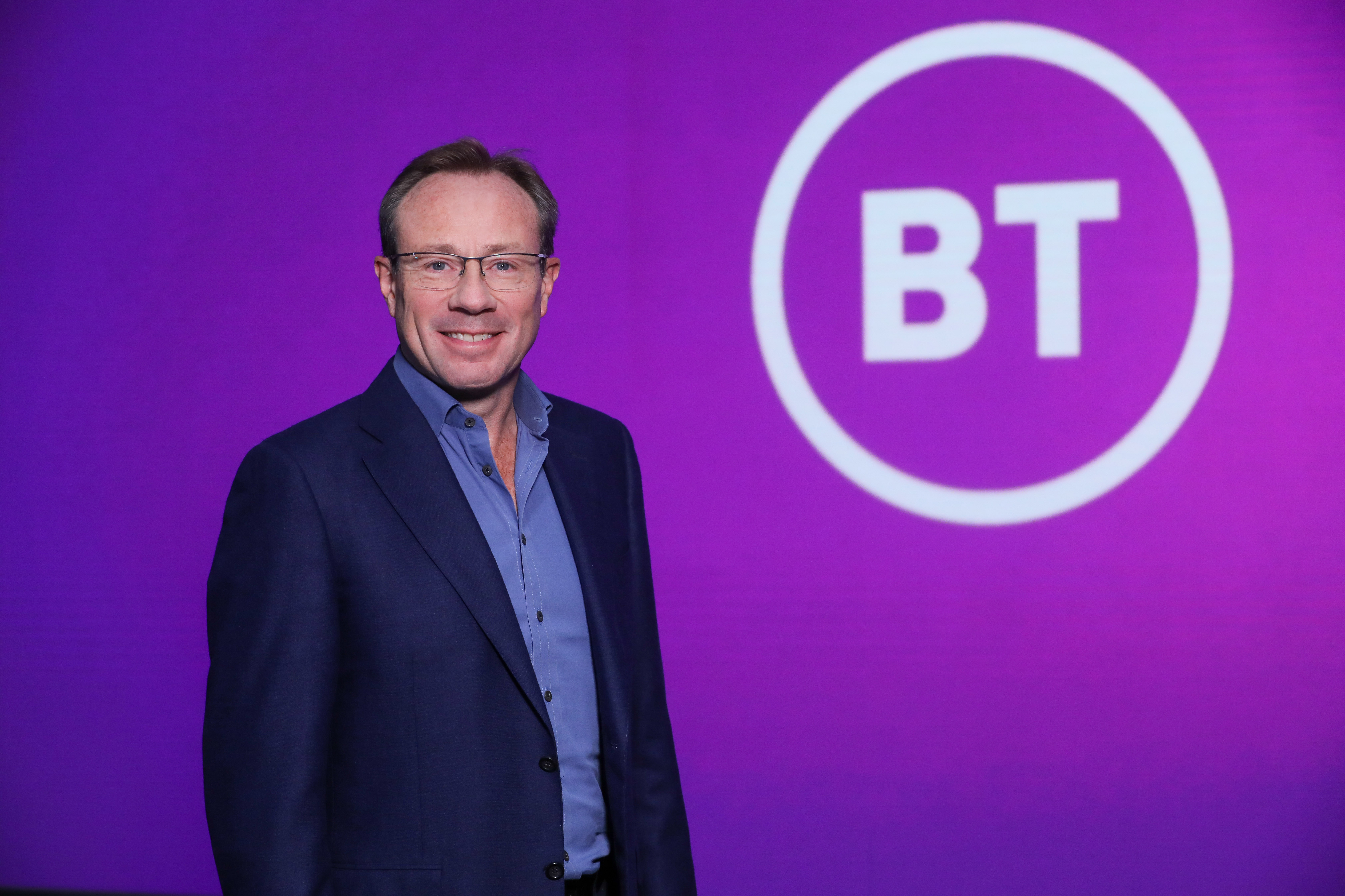 BT's chief executive Philip Jansen