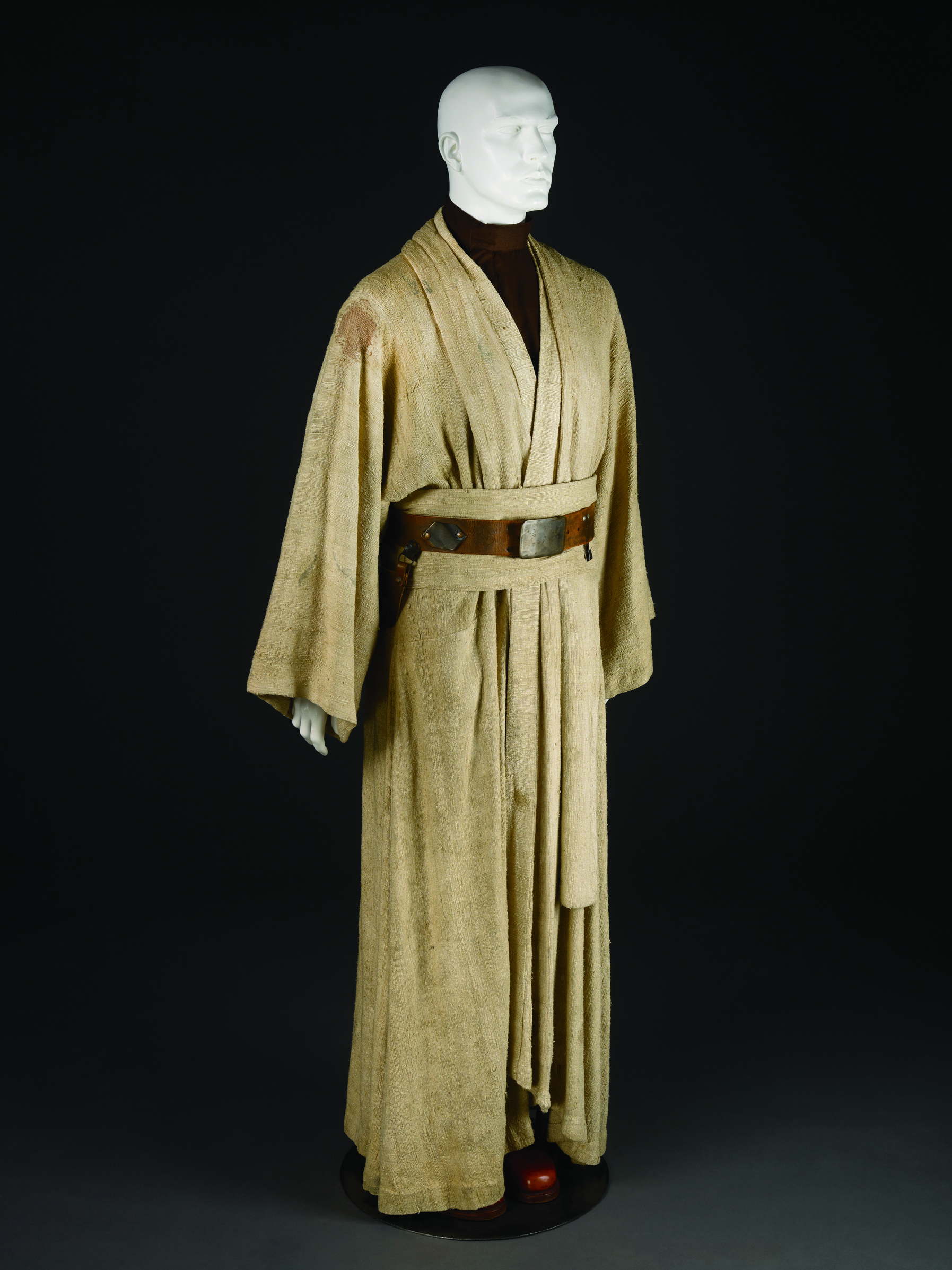 Costume for Obi-Wan Kenobi, played by Alec Guinness in the 1977 film Star Wars: Episode IV - A New Hope