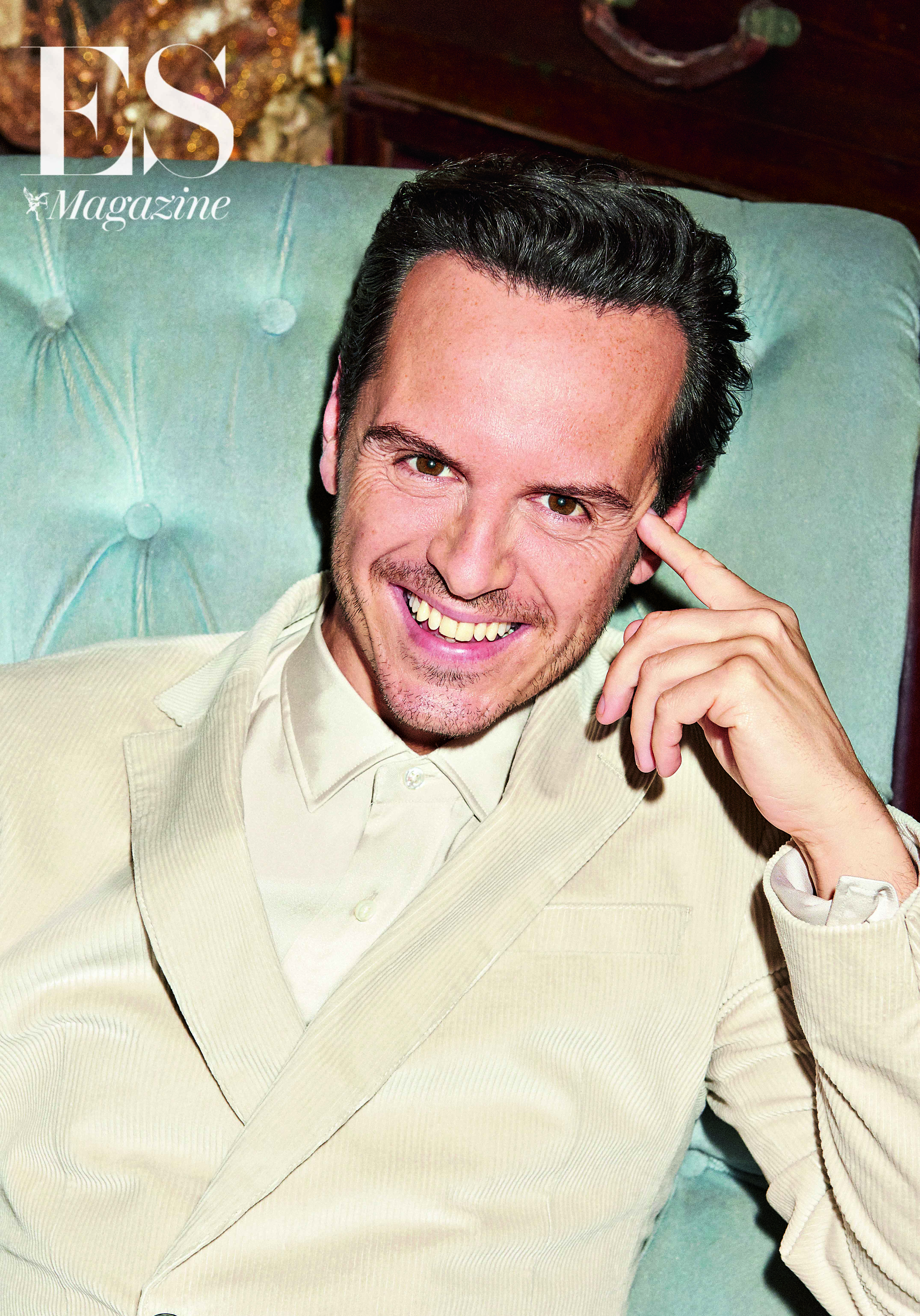 Andrew Scott shot by Tung Walsh for ES Magazine