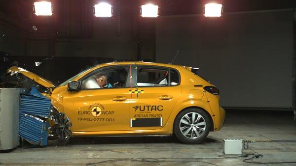 New Peugeot 208 just misses five-star Euro NCAP score