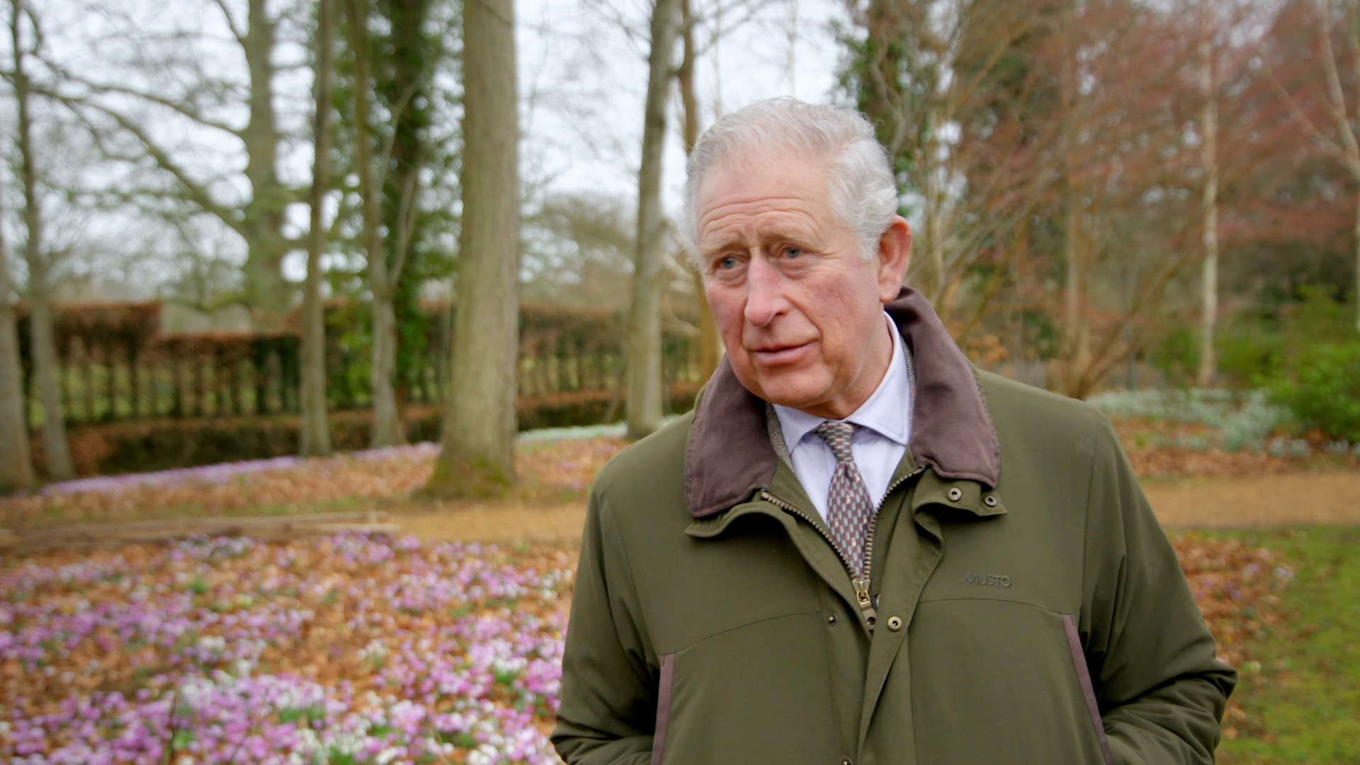 The Prince of Wales interviewed in the Duchy of Cornwall documentary