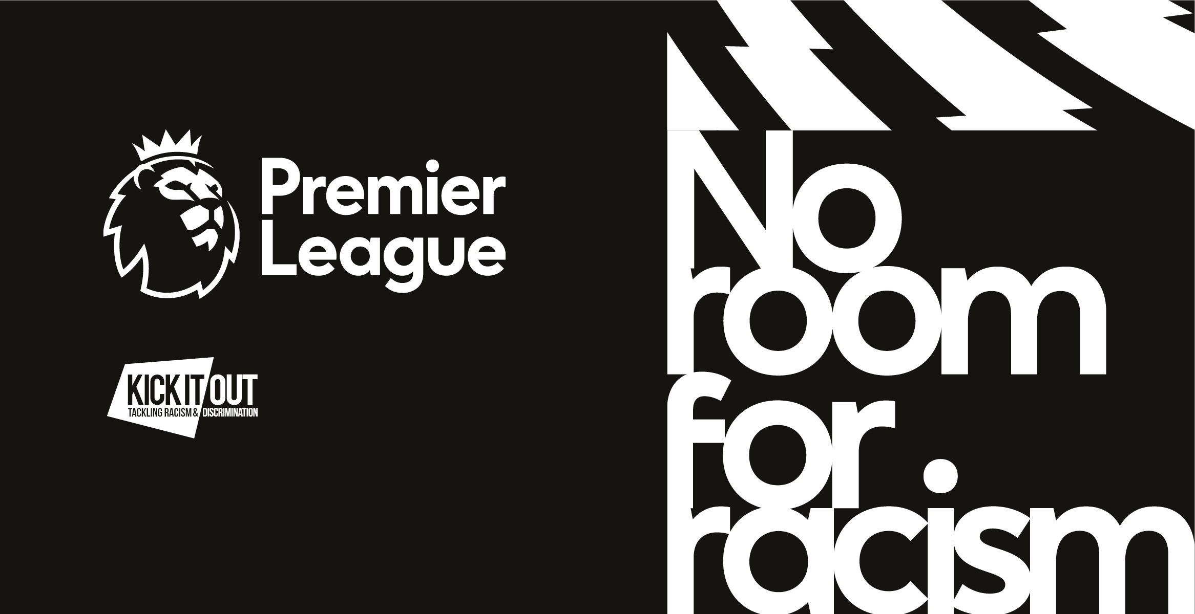 Premier League No Room For Racism banner