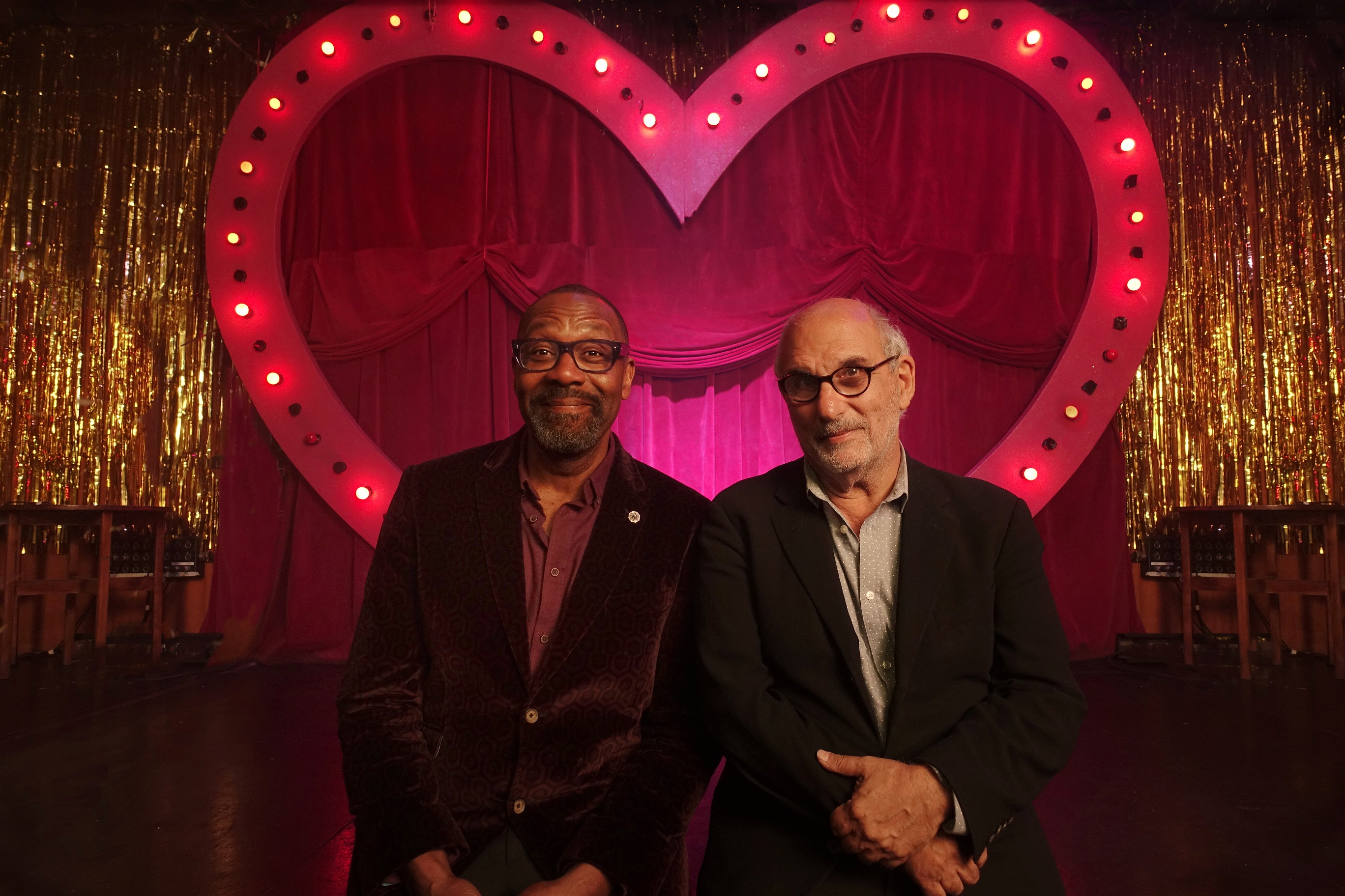 Sir Lenny Henry and Alan Yentob