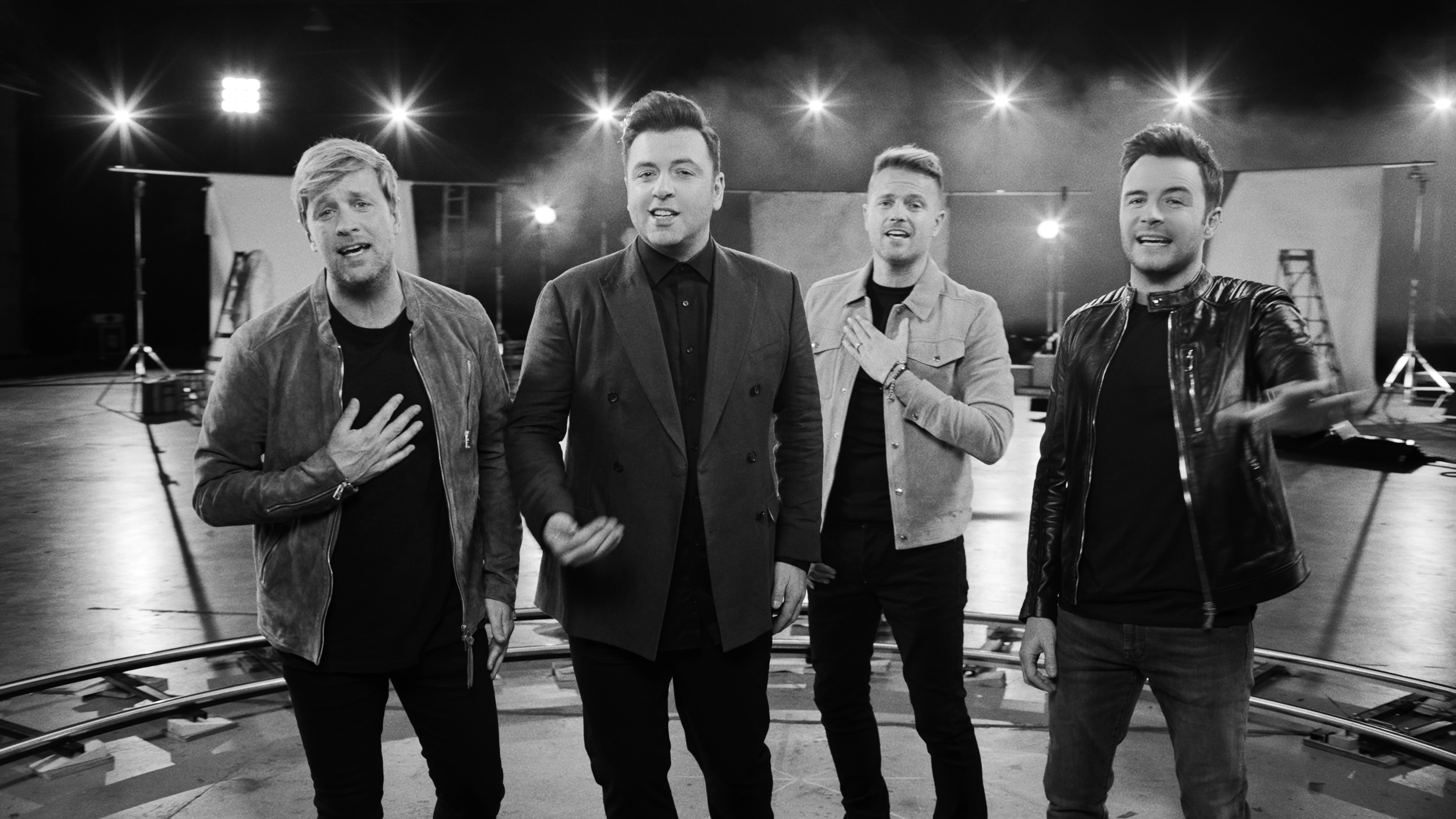 Westlife's children star in band's latest music video | FarmWeek