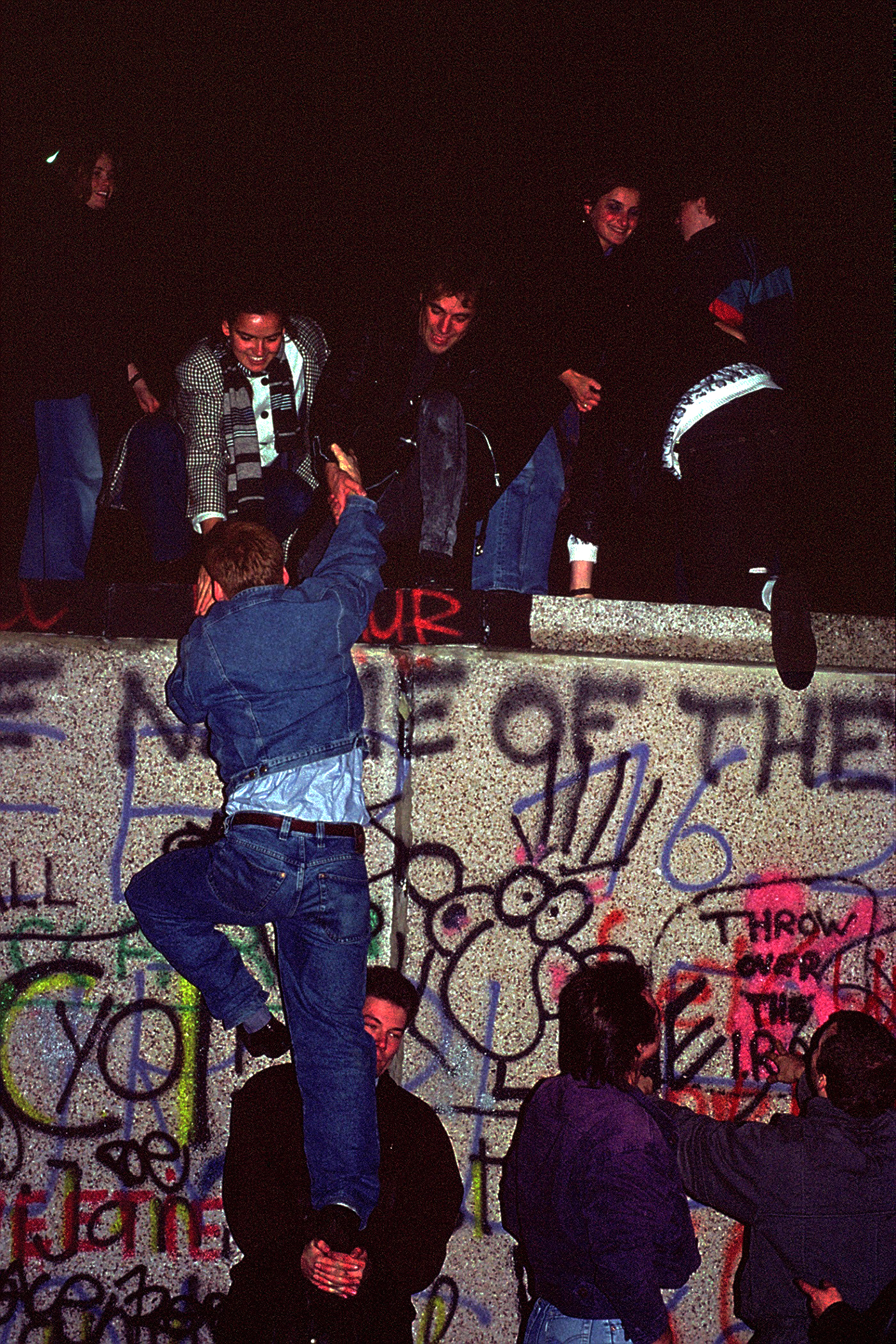 The night the Berlin Wall fell