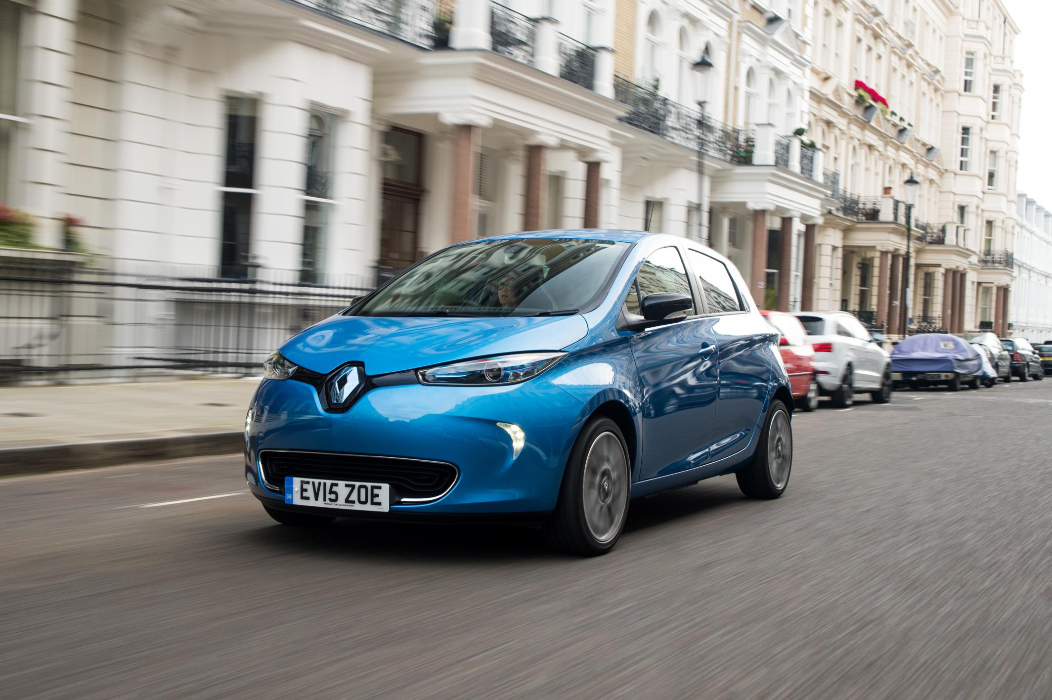 Renault Zoe in the city
