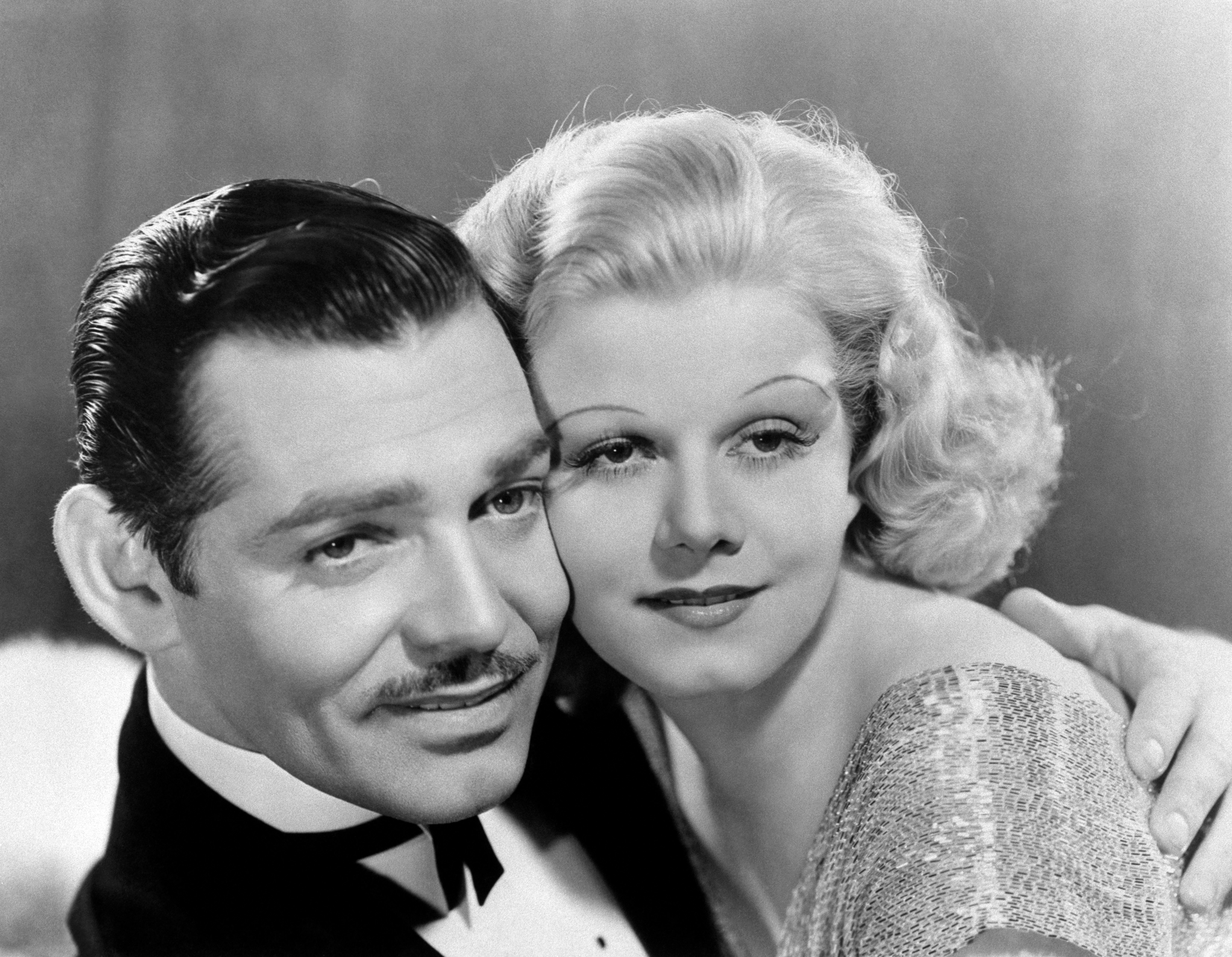 Clark Gable and Jean Harlow 1937